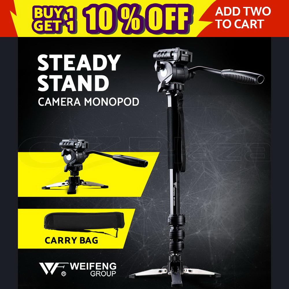Weifeng Camera Monopod Tripod Unipod Fluid Head Holder Travel DSLR Camcorder DV 9350062014790