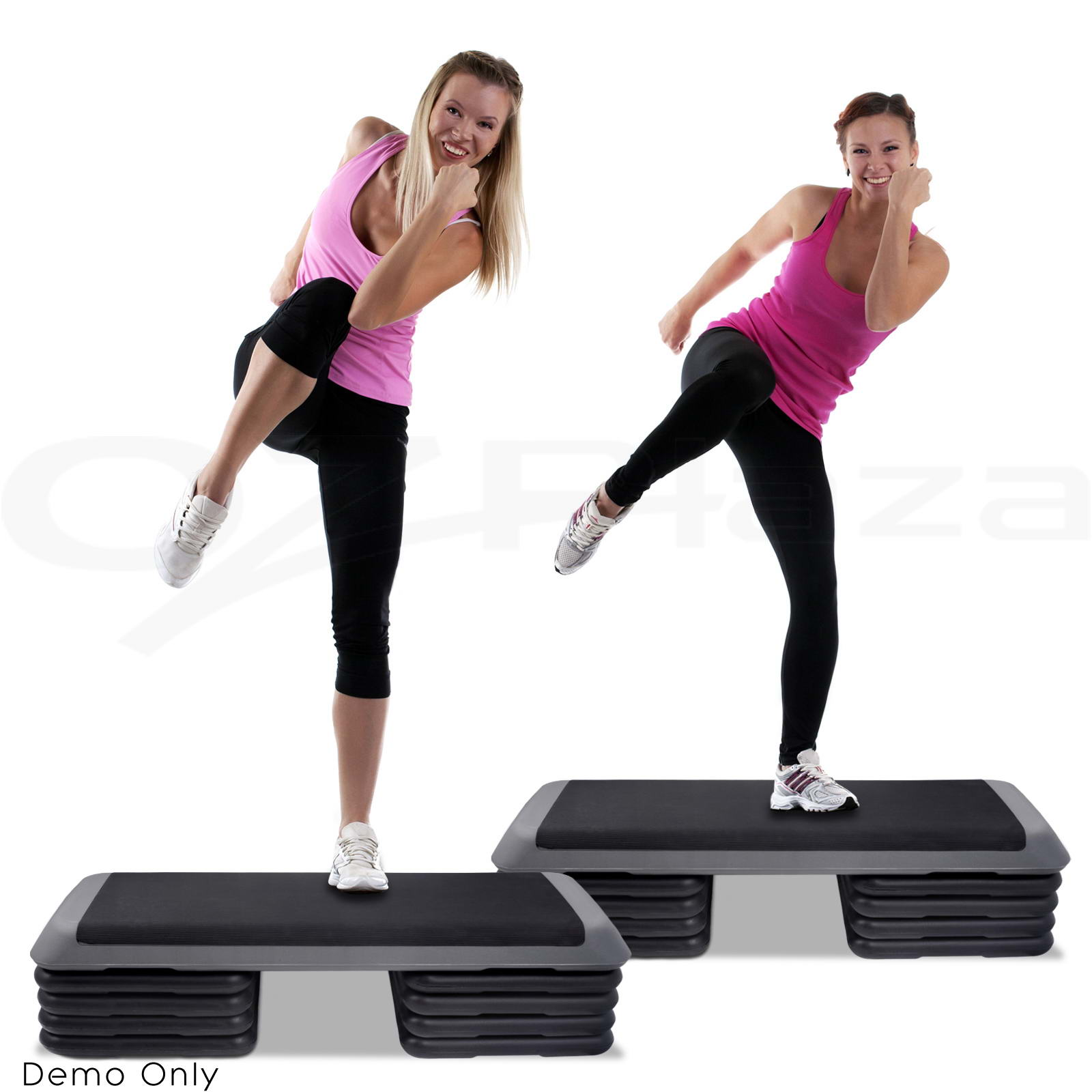 Everfit Aerobic Gym Workout Exercise Cardio Fitness Bench