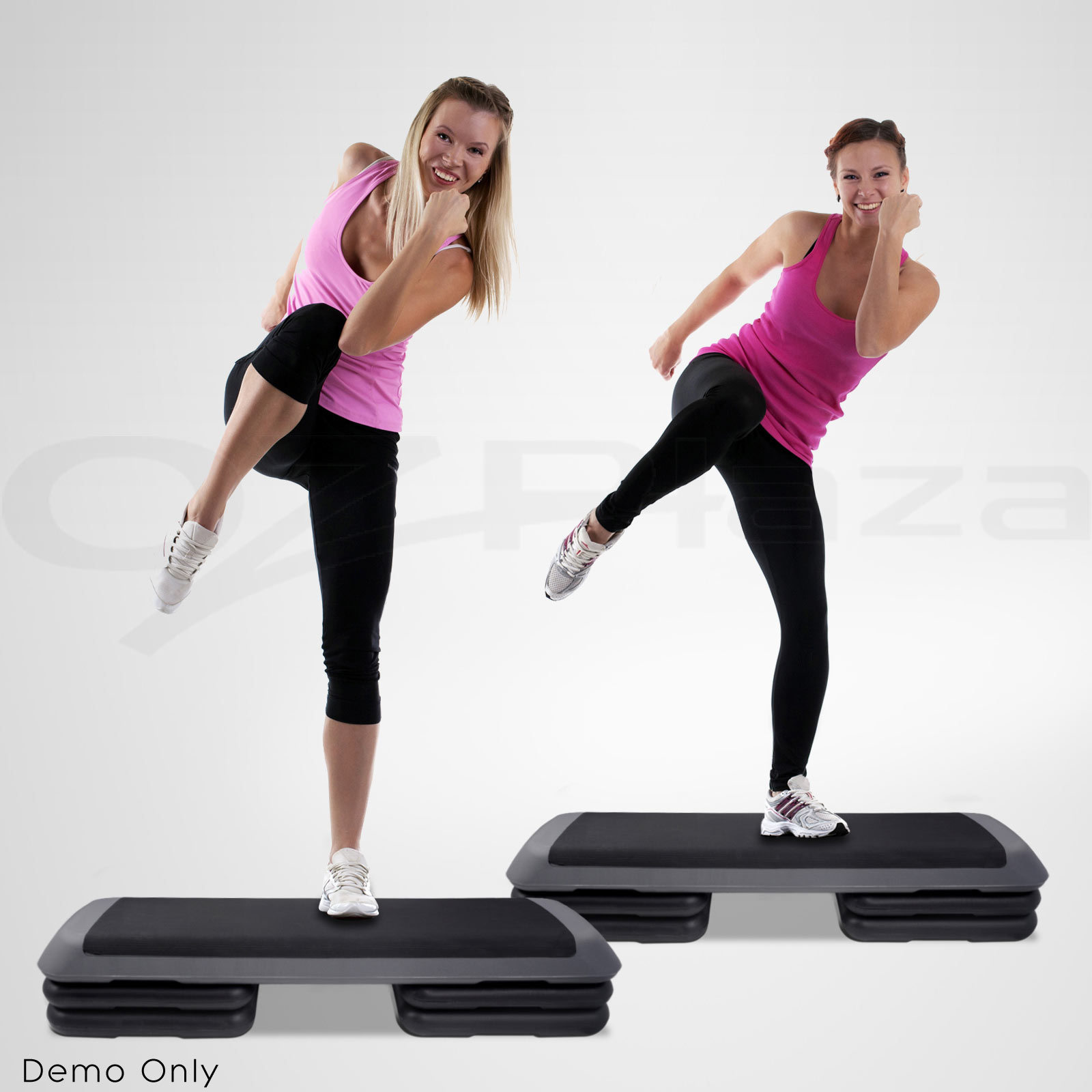 Everfit Aerobic Gym Workout Exercise Cardio Fitness Bench Blook Step Level Ebay