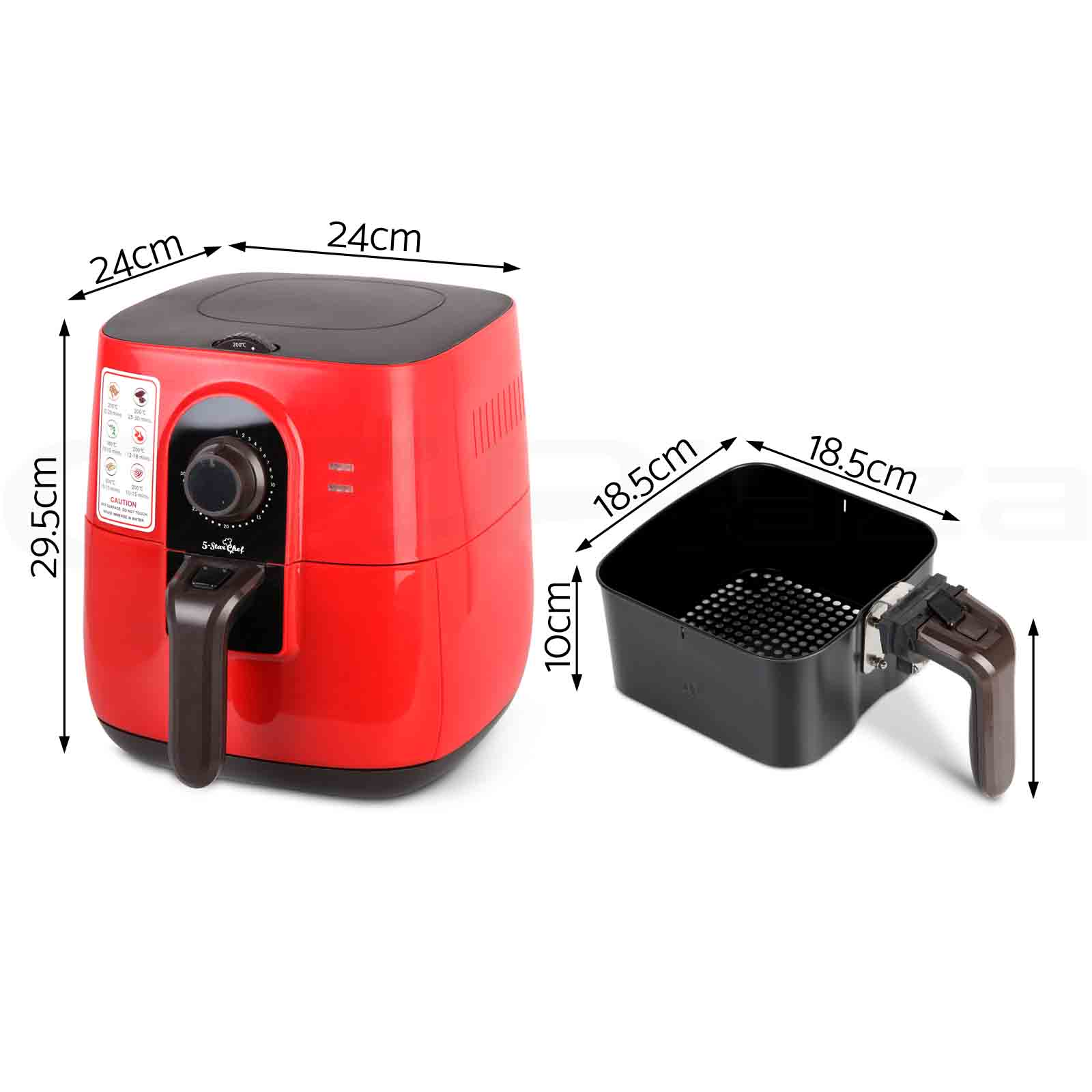 New Air Cooker ~ New l air fryer star chef low fat oil free rapid deep