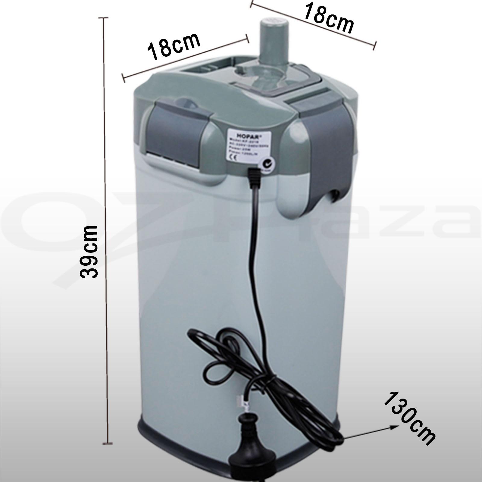 Fish tank aquarium filter sponge aqua external canister for External fish tank filter
