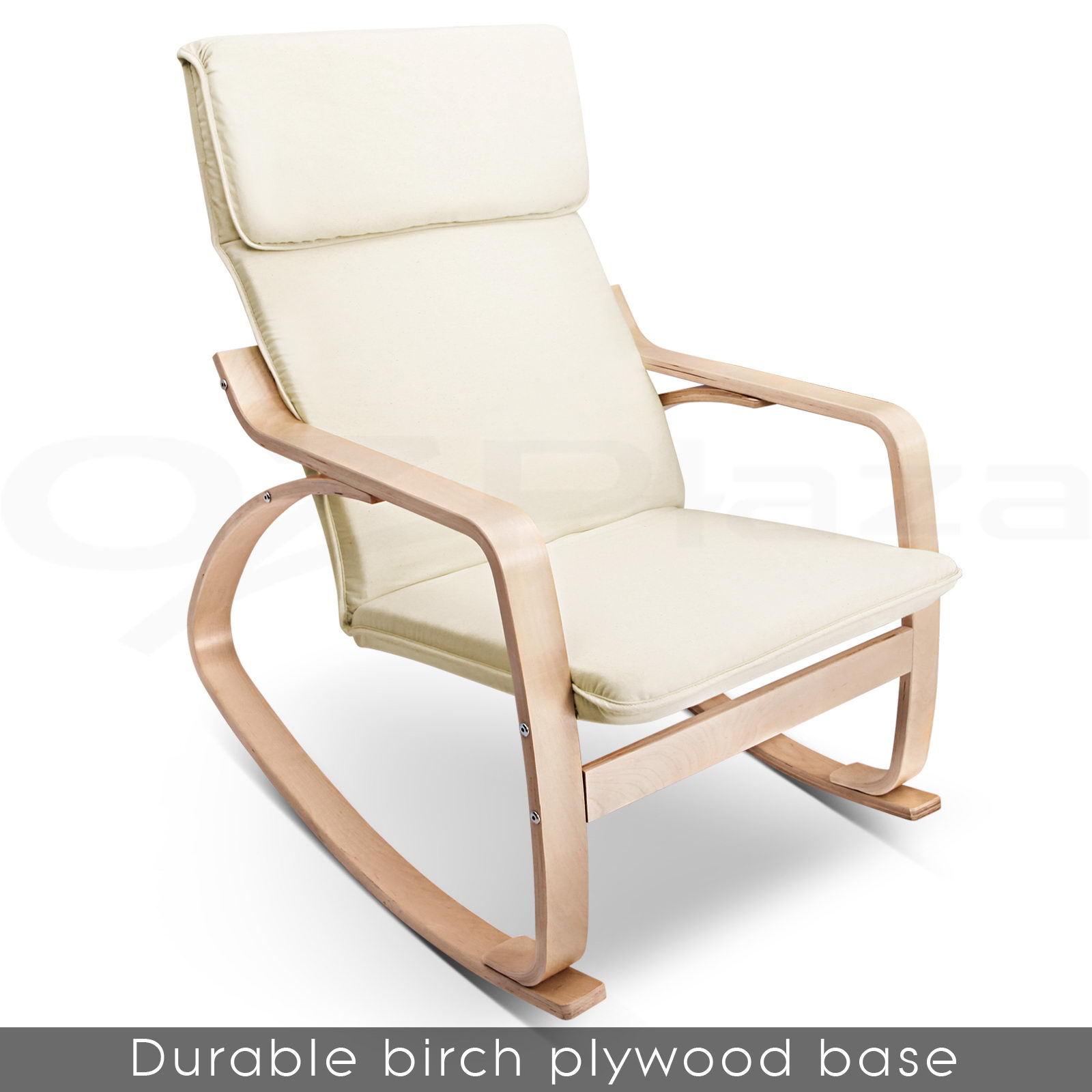 Chairs gt see more bentwood rocking arm chair cushion wooden loun