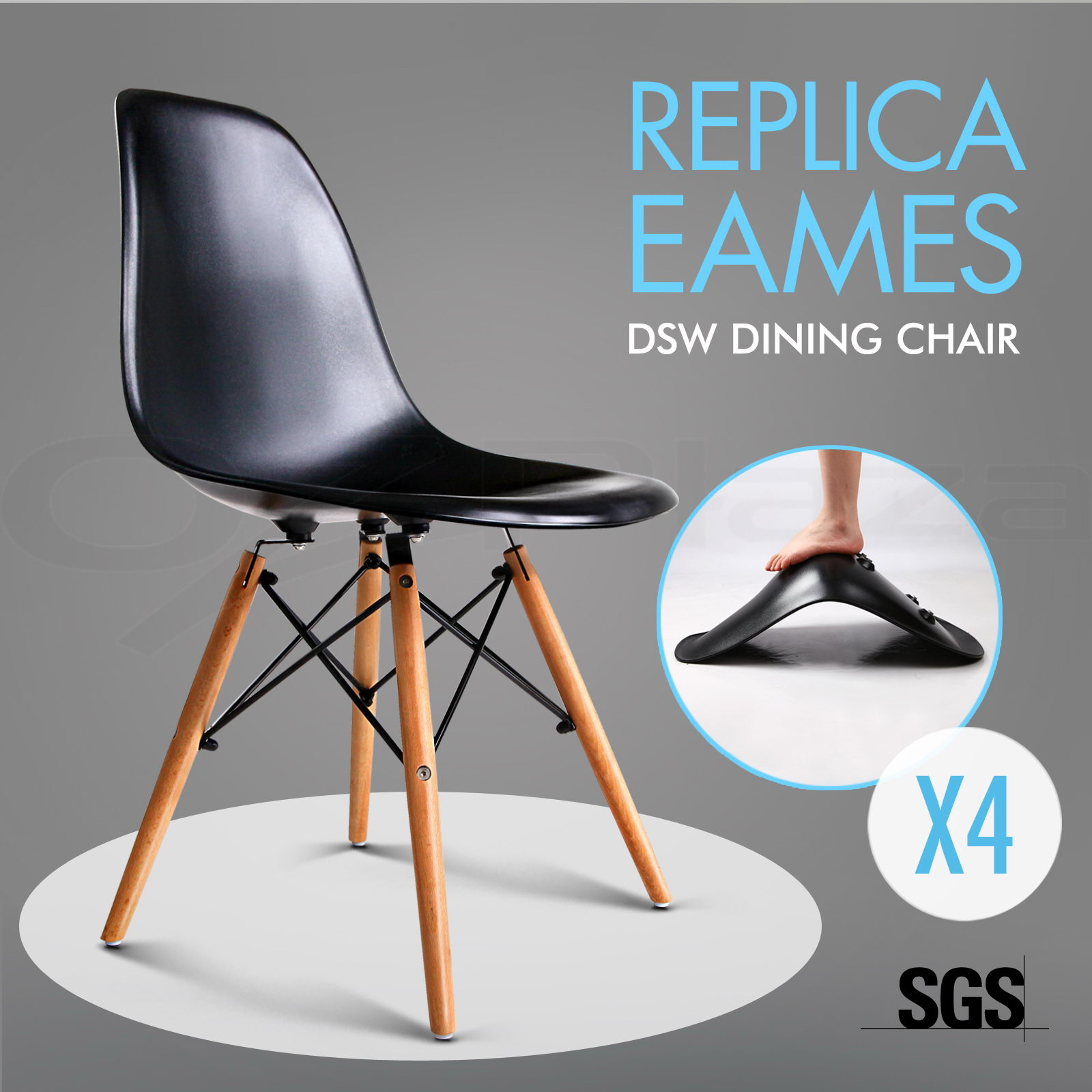 Eames Dsw Replica Dining Chair Replica Charles Eames DSW Dining
