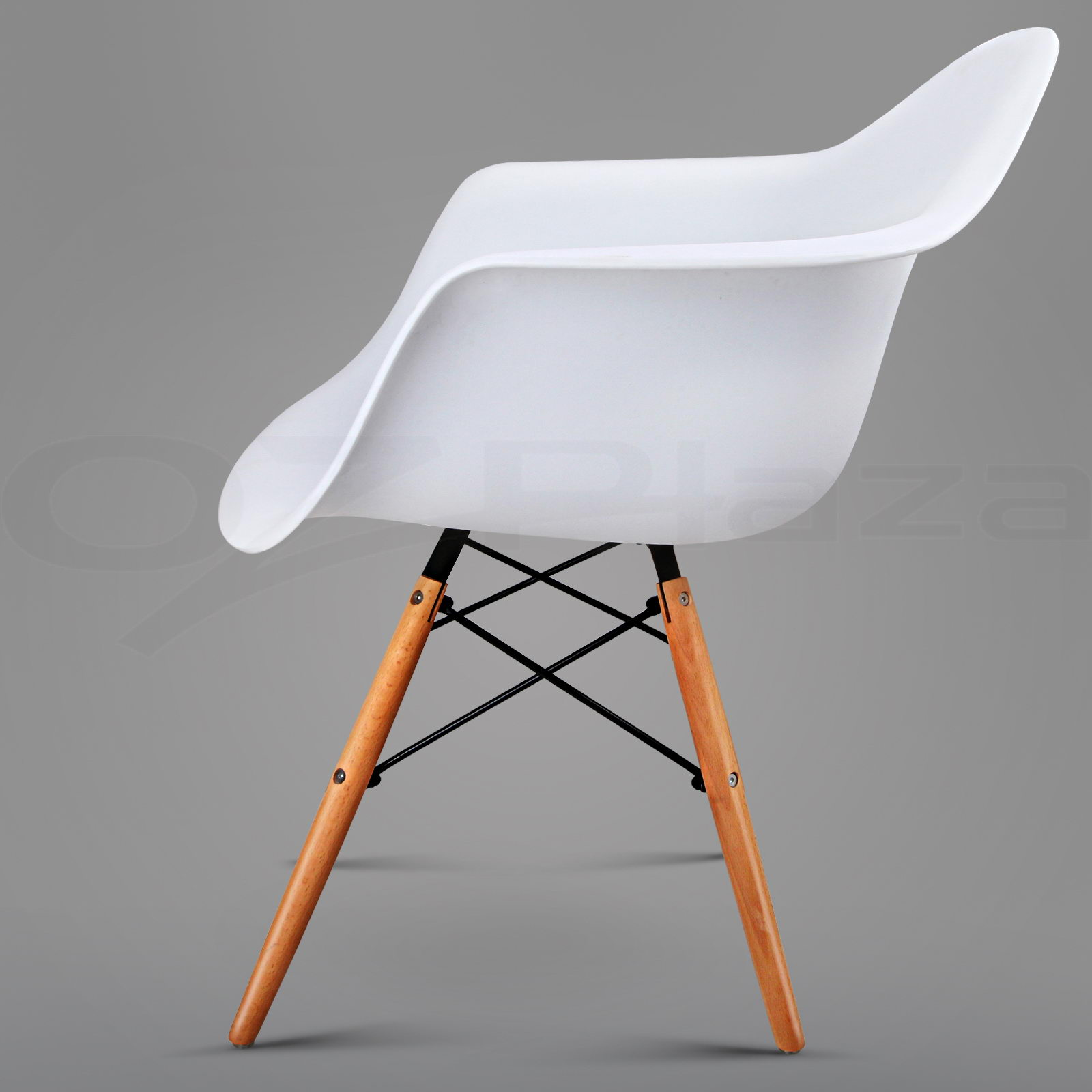 2 x retro replica eames dsw dining chair daw armchair for Eames chair daw replica