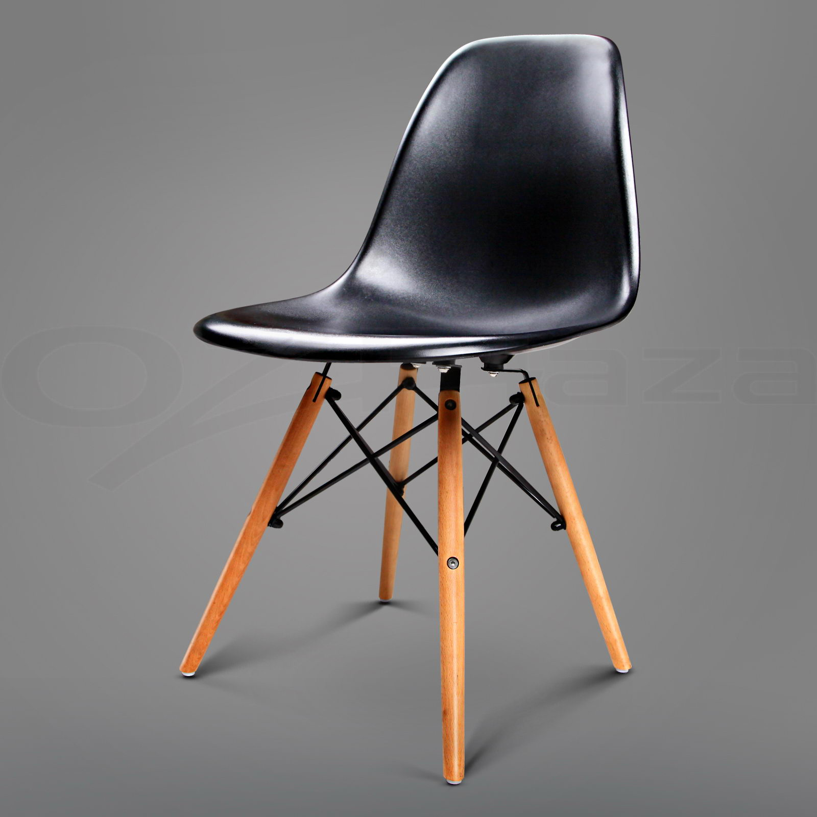 replica eames dsw dining chair daw armchair padded fabric abs ebay