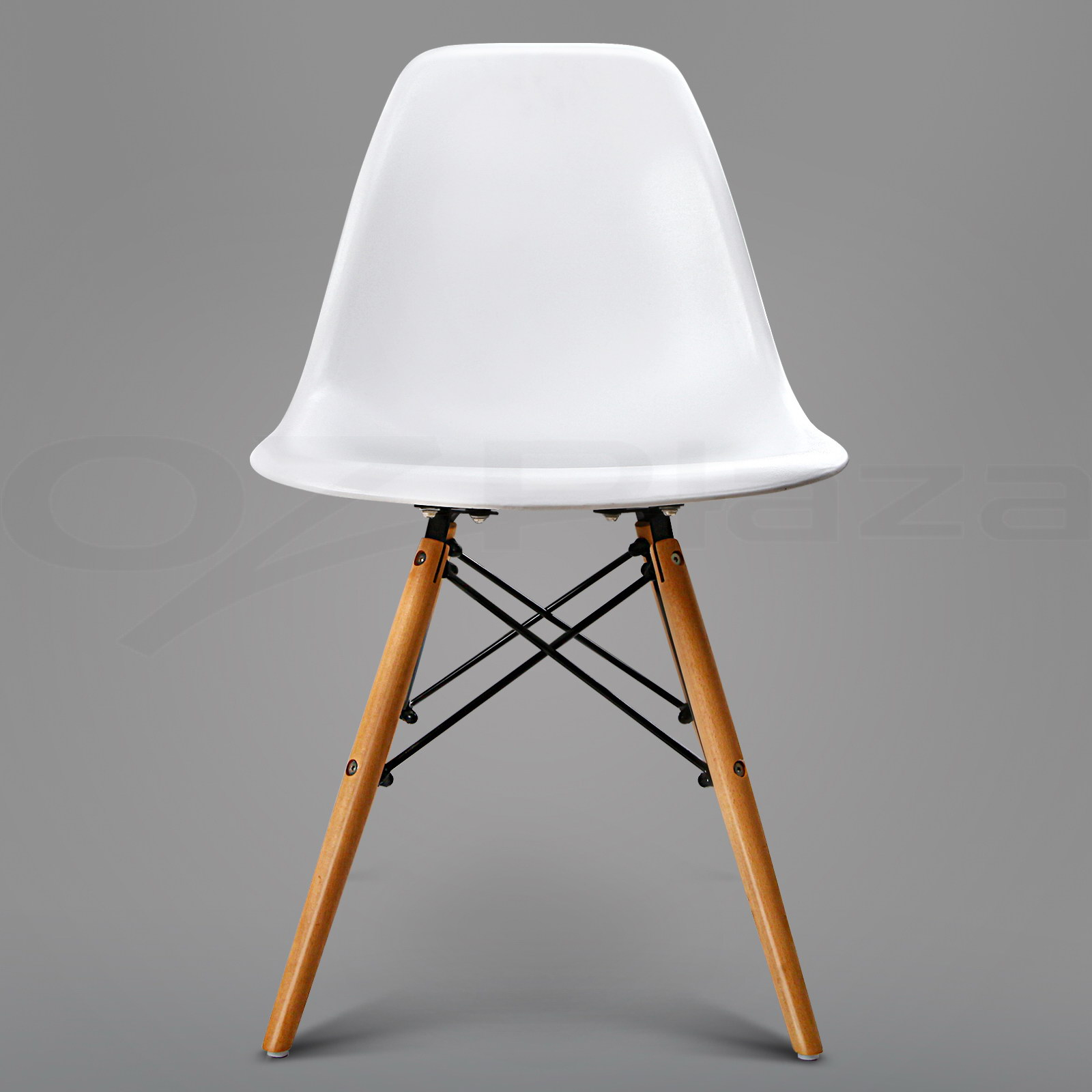 dining table 4 x eames chair set retro replica eiffel dsw kitchen white ebay. Black Bedroom Furniture Sets. Home Design Ideas