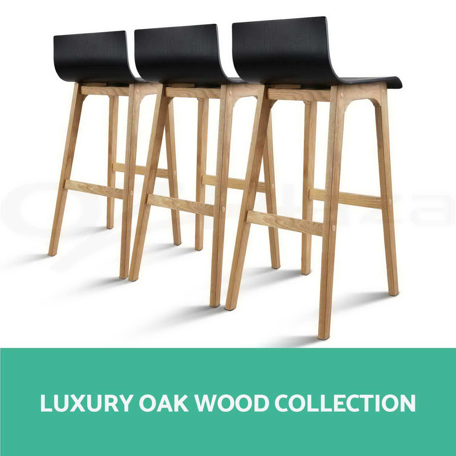 Oak Wood Stools ~ Oak wood bar stools wooden barstool dining chairs