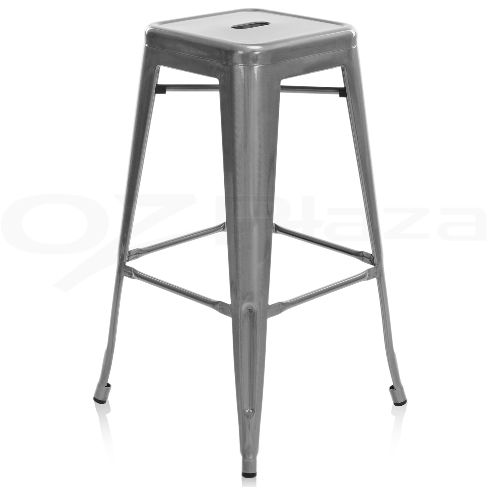 4x replica xavier tolix bar stool metal steel kitchen cafe - Tolix bar stool replica ...