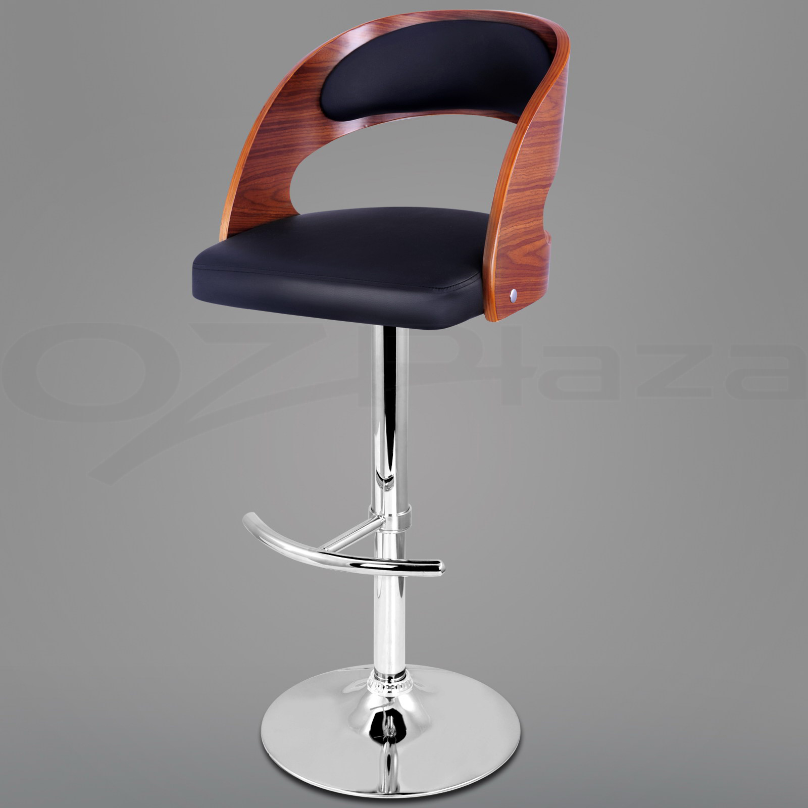 Wooden Bar Stool Barstool Kitchen Dining Chair Gas Lift