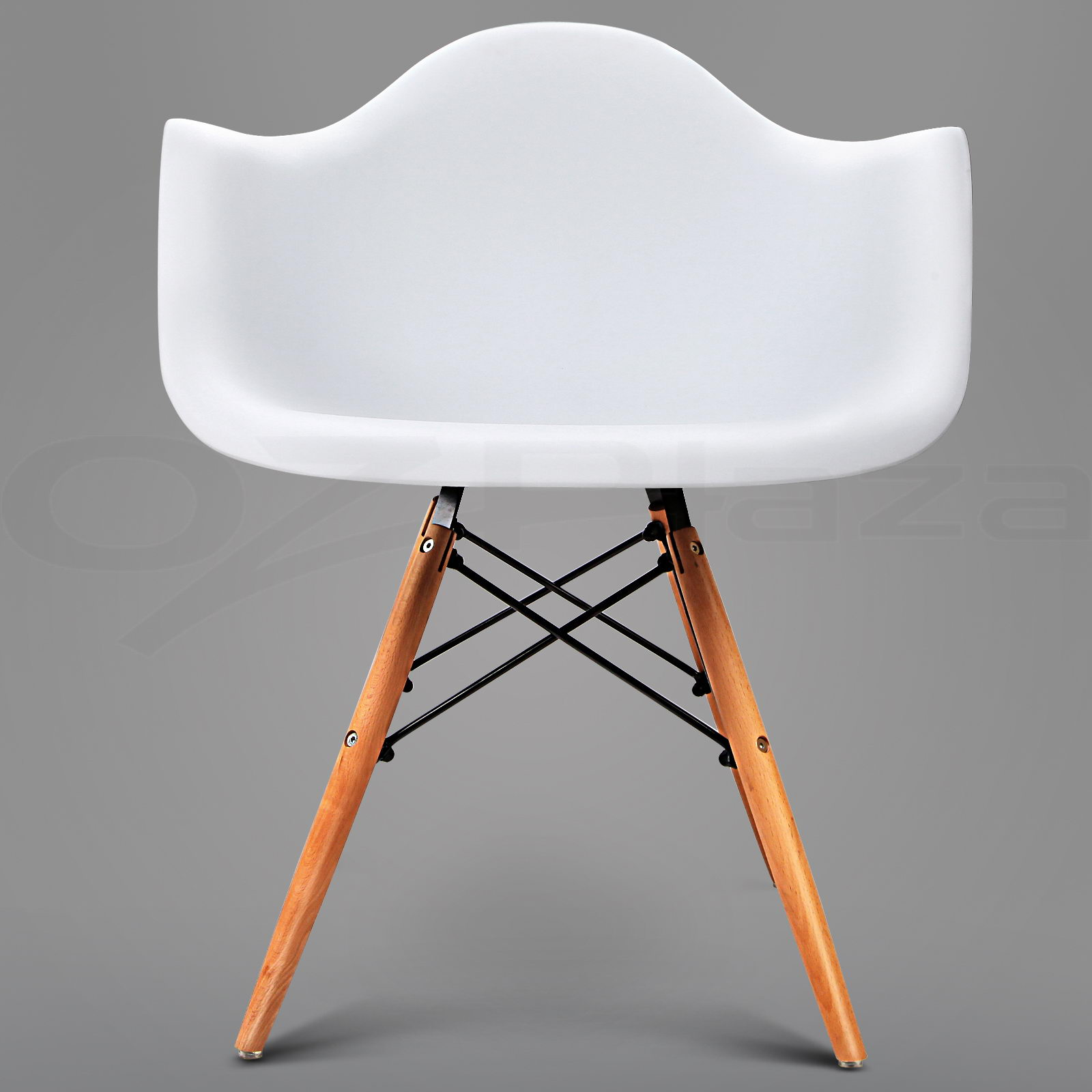 2 x retro replica eames dining chair daw office cafe side for Eames armchair replica