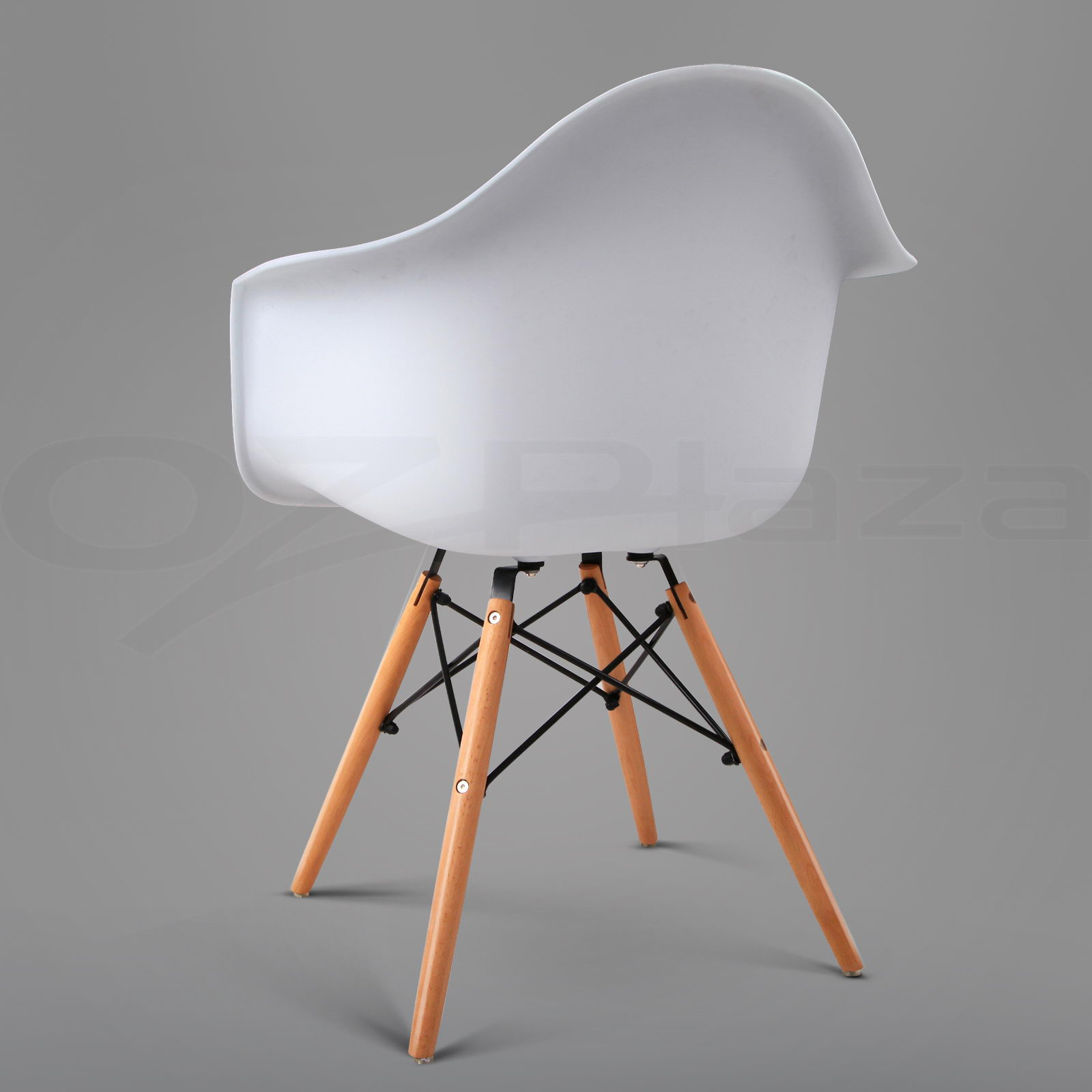 details about 2 x retro replica eames dining chair daw office cafe