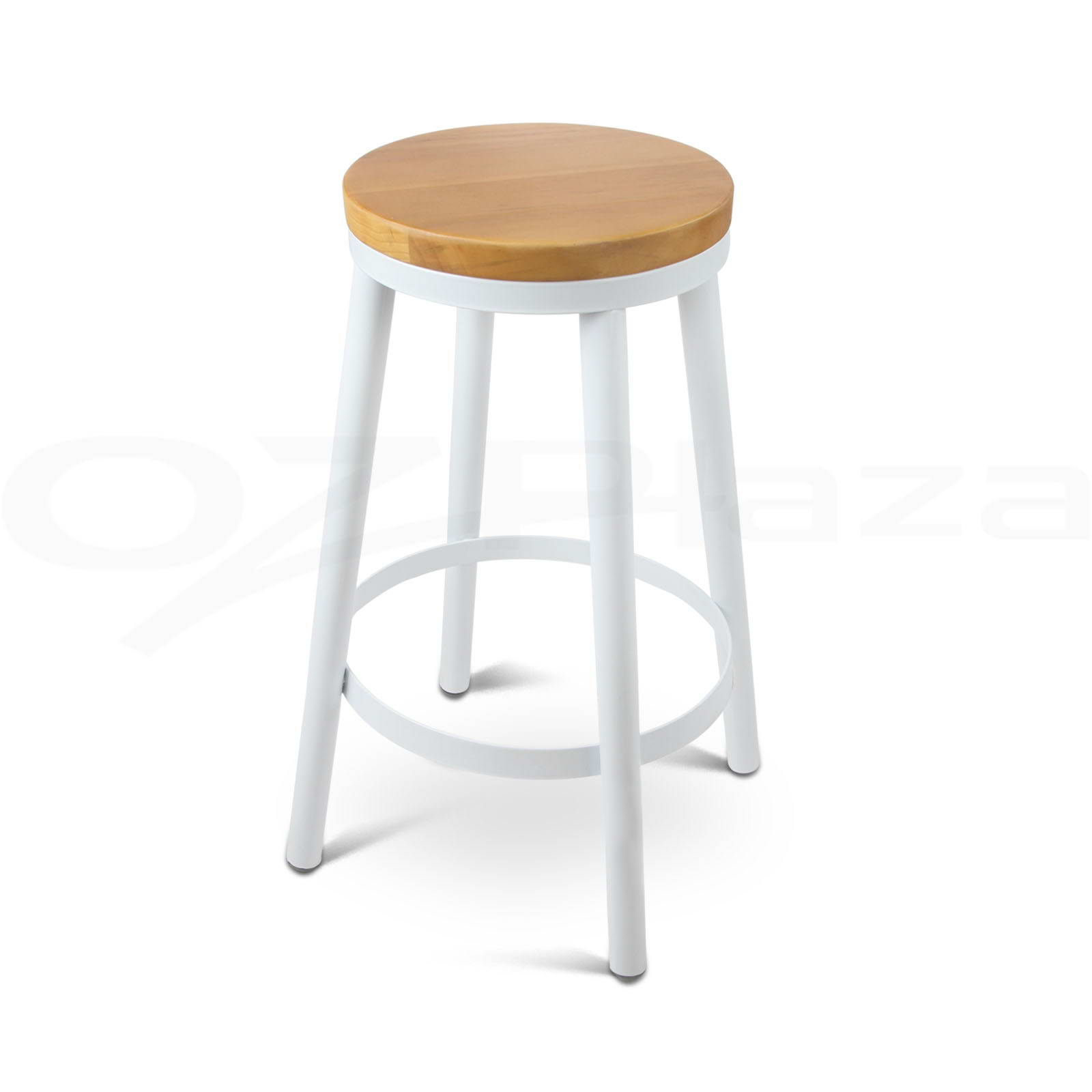 2x Danny Industrial Bar Stool Stackable Barstool Dining