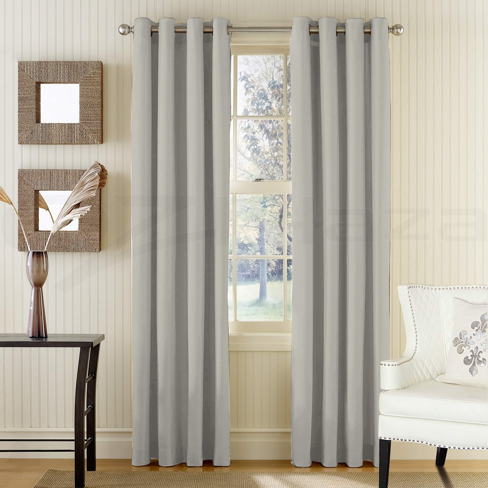 300cmx230cm Blockout Curtains Eyelet Blackout Room