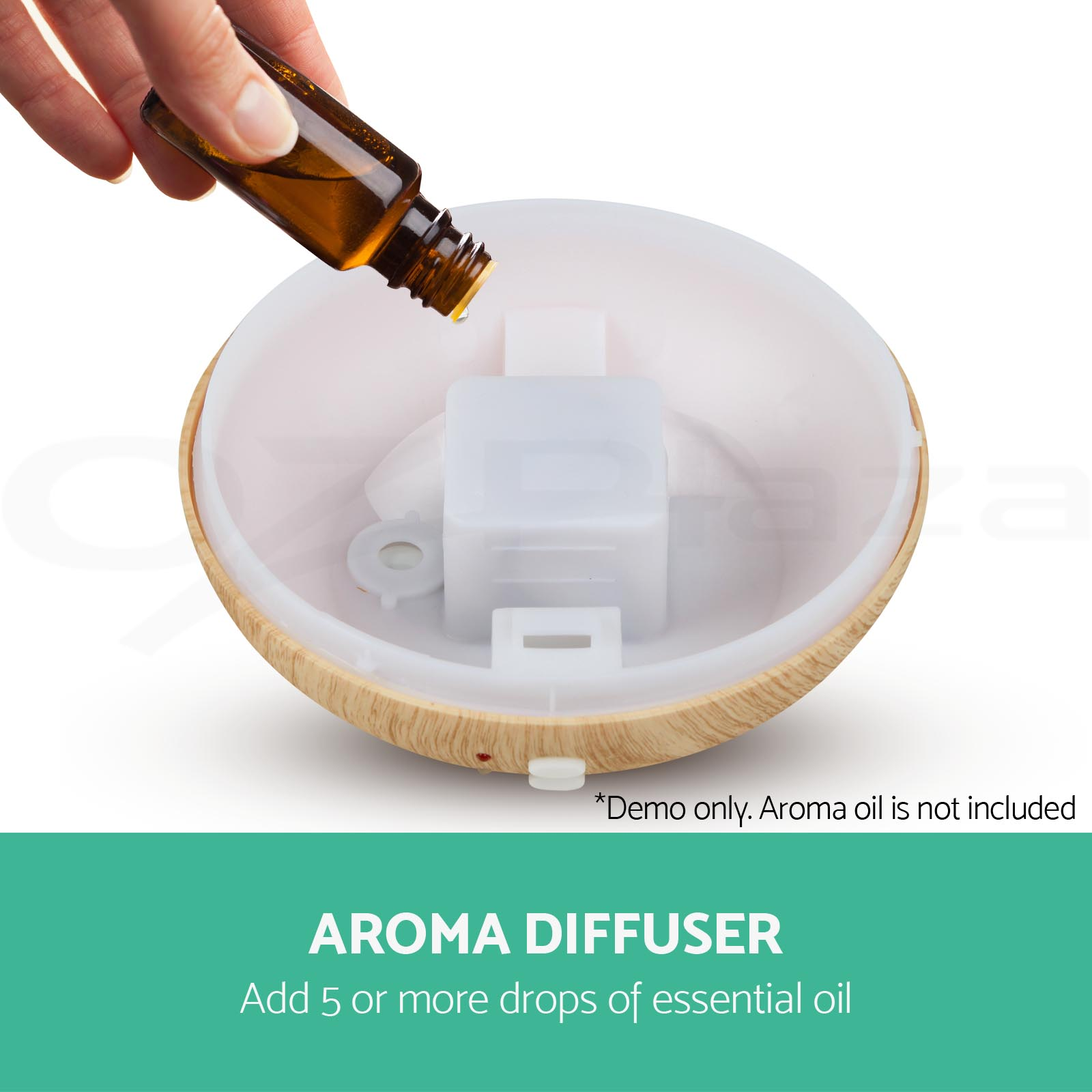 Aroma Oil Diffuser ~ Aroma aromatherapy diffuser led essential oil ultrasonic