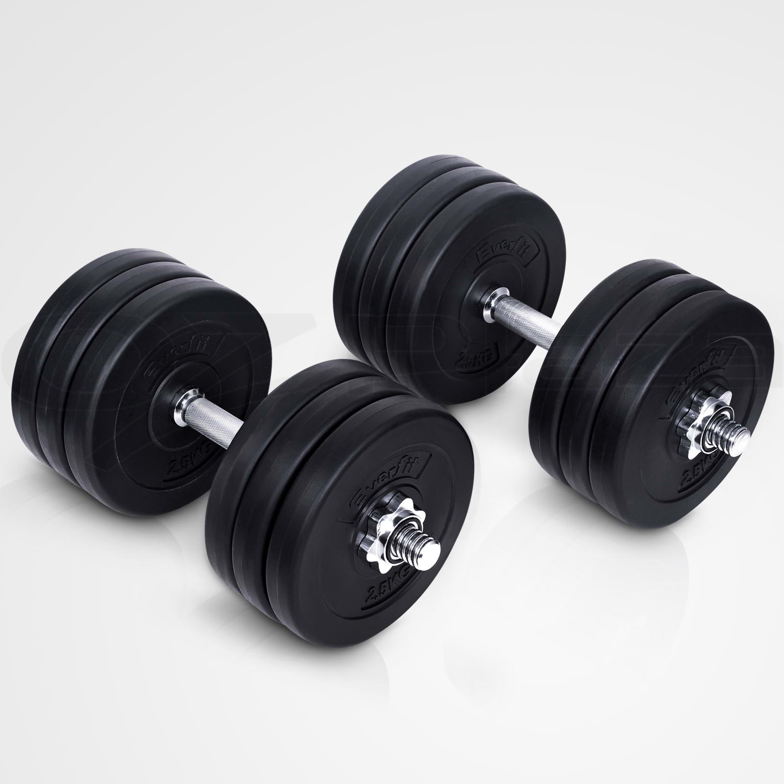 Best Home Dumbbell Set: Dumbbell Set Everfit Weight Dumbbells Plates Home Gym