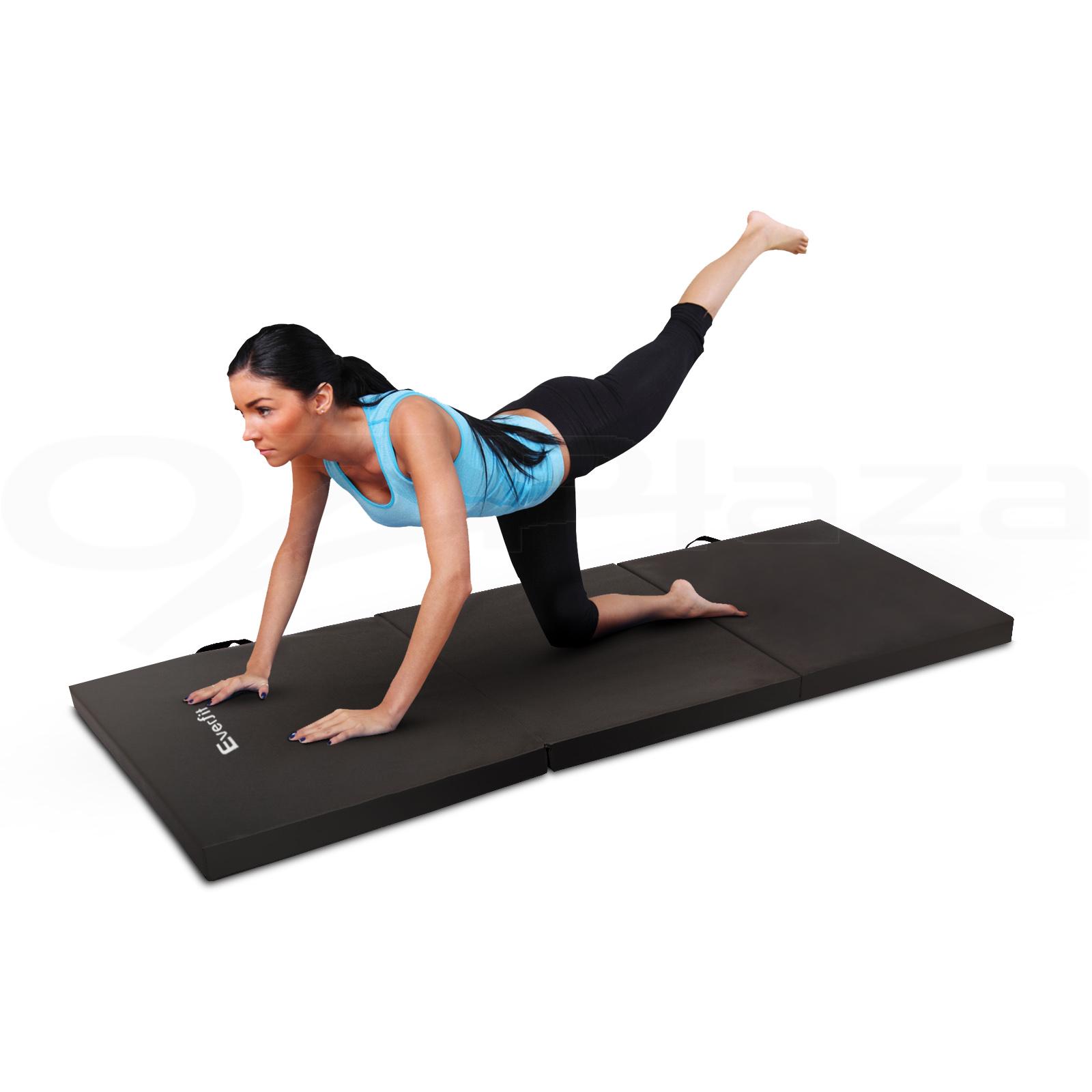 6CM Folding Exercise Mat Floor Dance YoGa Gymnastics