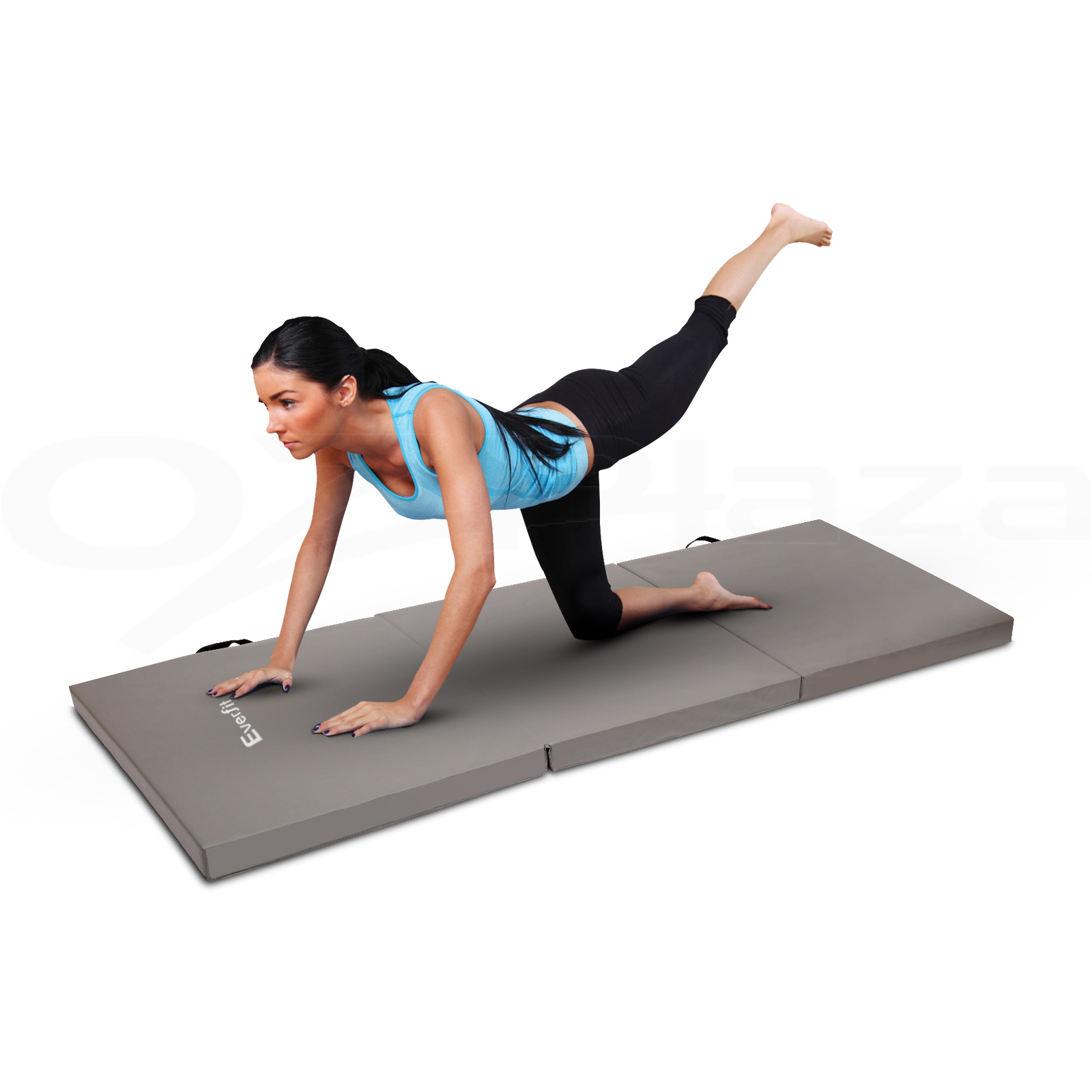 Good Workout Mat: 6CM Folding Exercise Mat Floor Dance YoGa Gymnastics