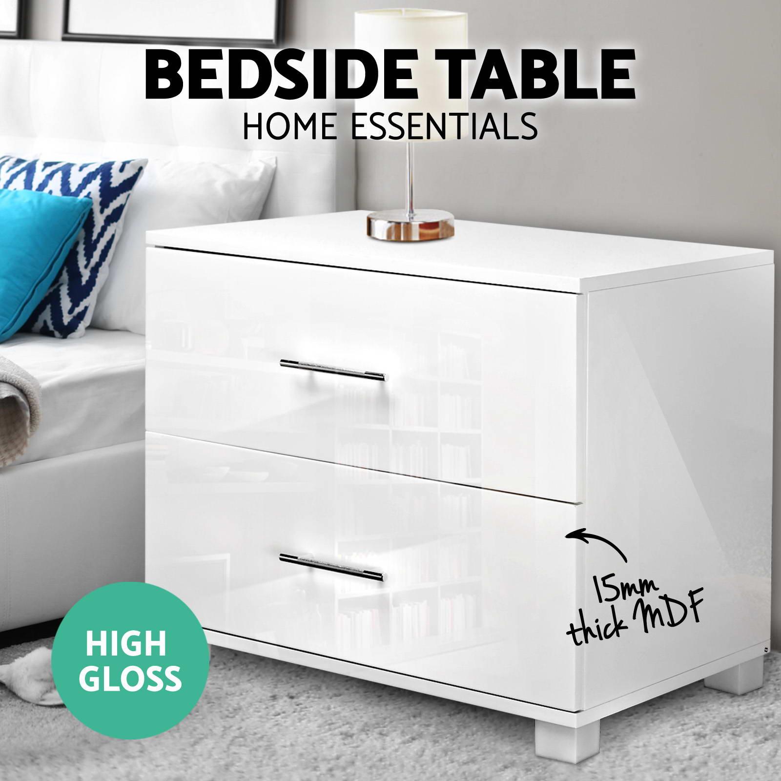 Gloss One Drawer Nightstand