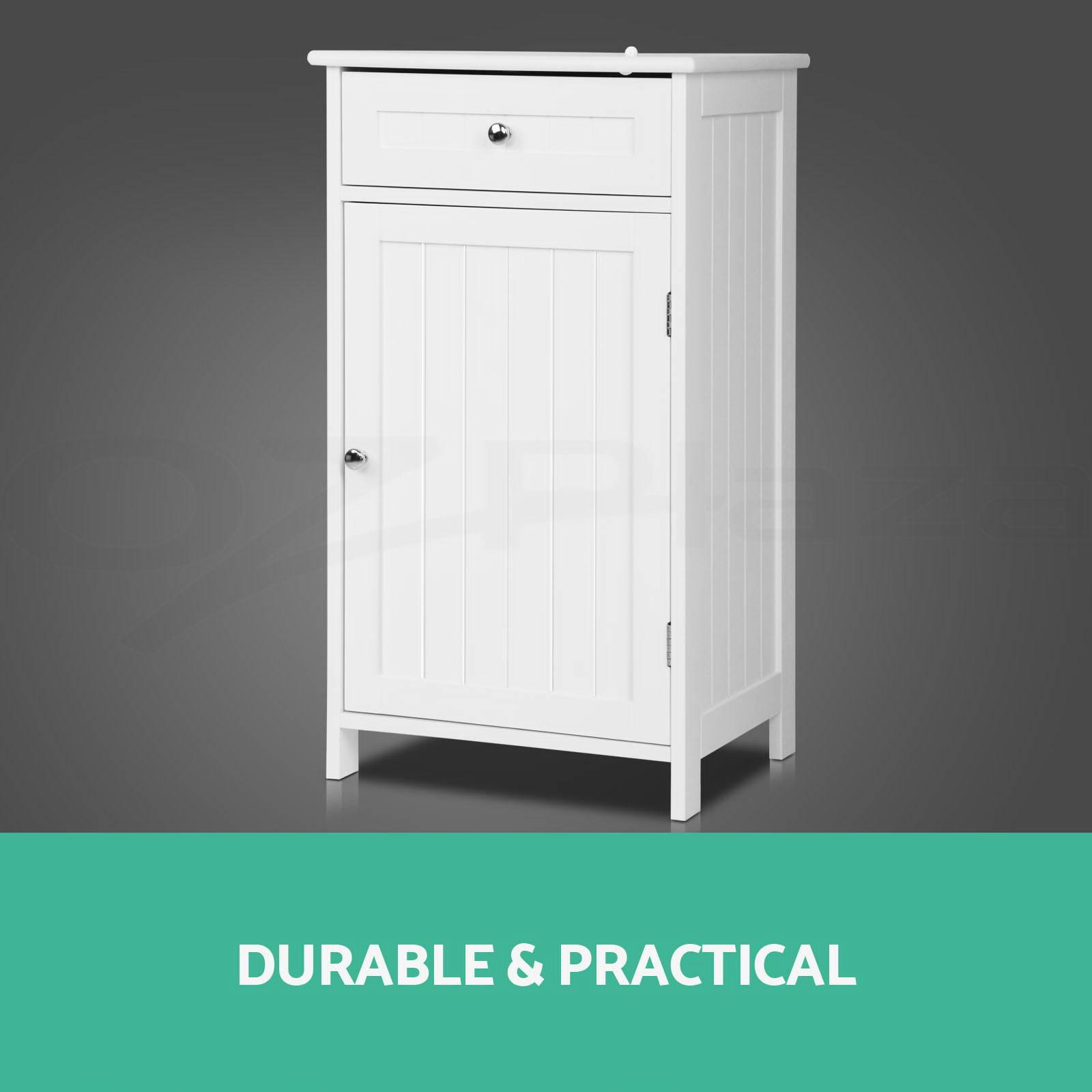 storage side cabinet bathroom tallboy furniture chest of