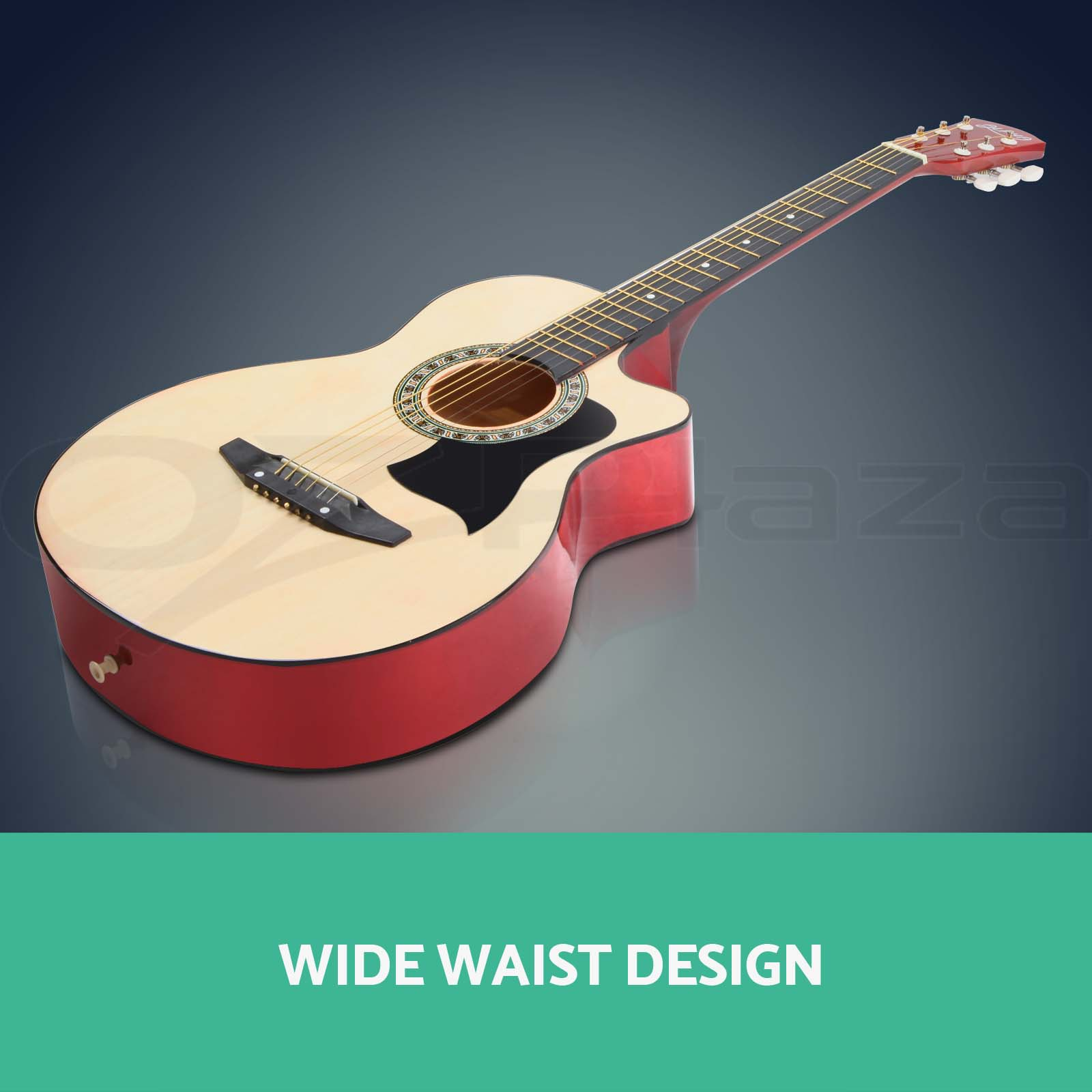 38? Inch Wooden Folk Acoustic Guitar Classical String Capo Bag Stand Tuner Strap eBay