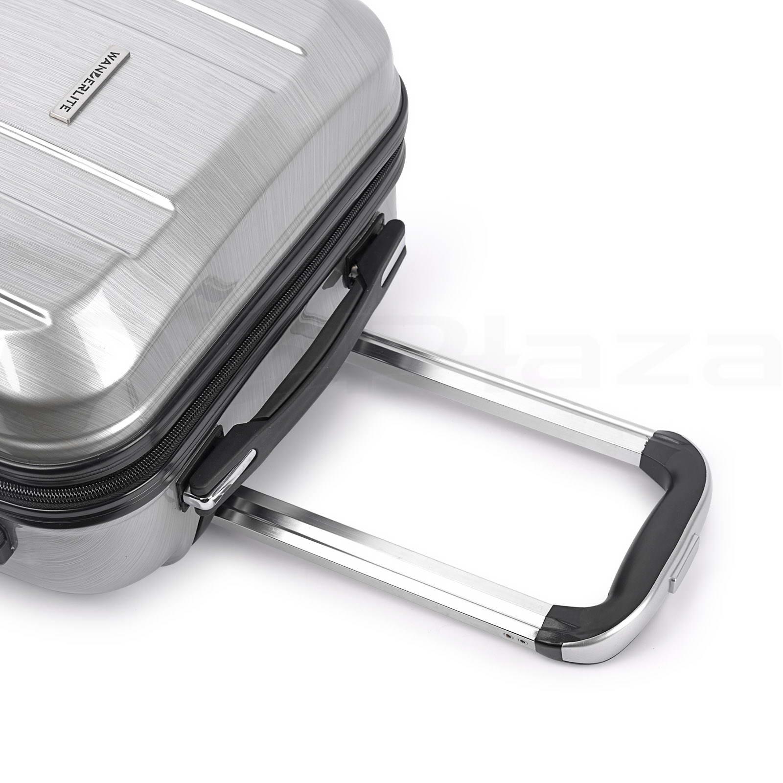 2pc Luggage Suitcase Trolley Set Tsa Carry On Bag Hard Case Lightweight Ebay