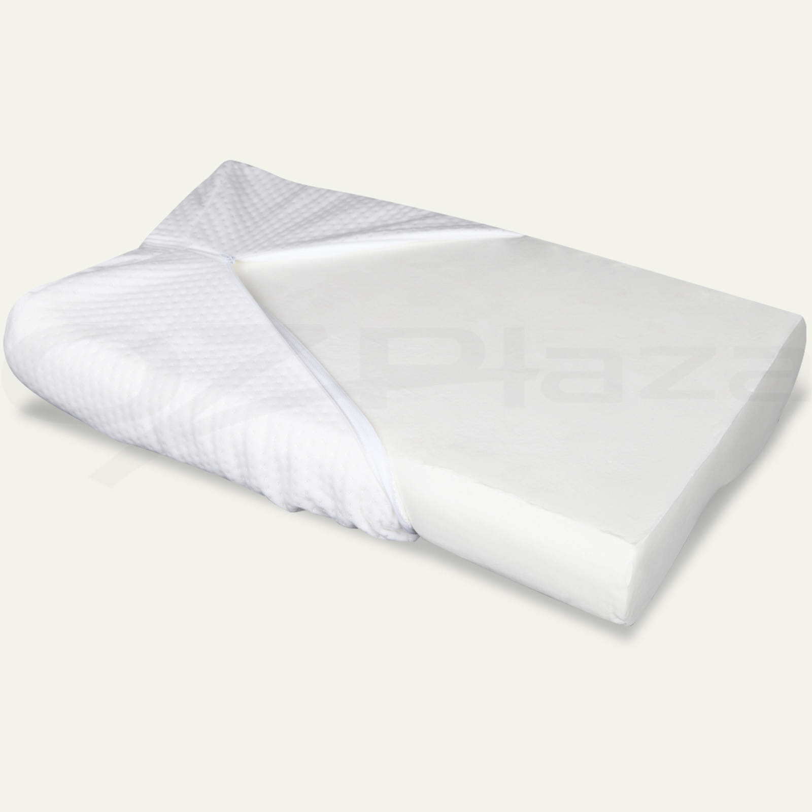 2x Supreme High Density Memory Foam Pillow Contour Cool Gel Home Hotel Top Cover eBay