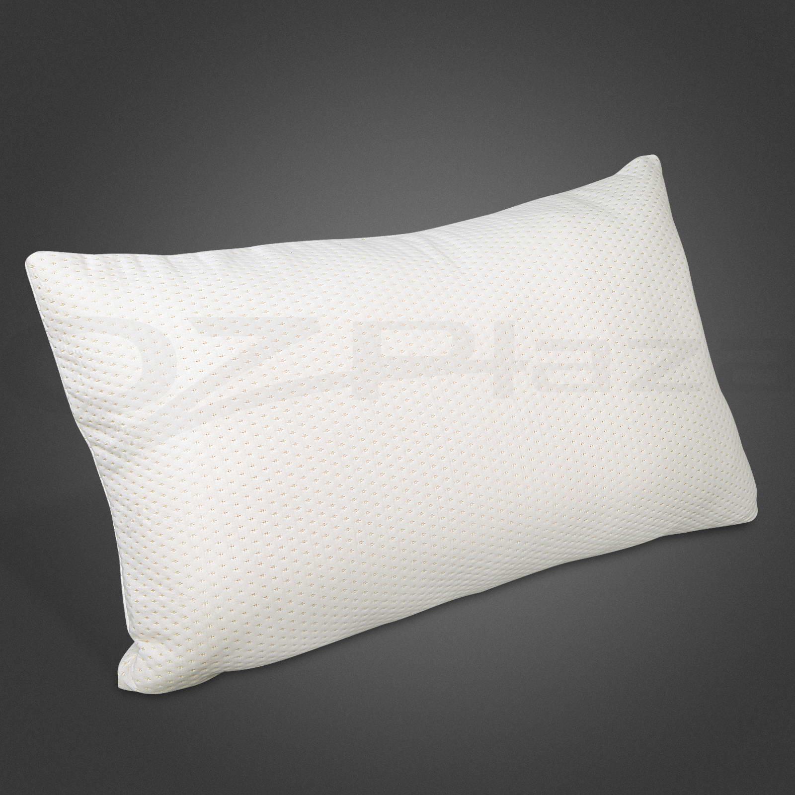 2 X Premium Visco Elastic Home Bed Memory Foam Pillow Extra Thick Medium To High Ebay