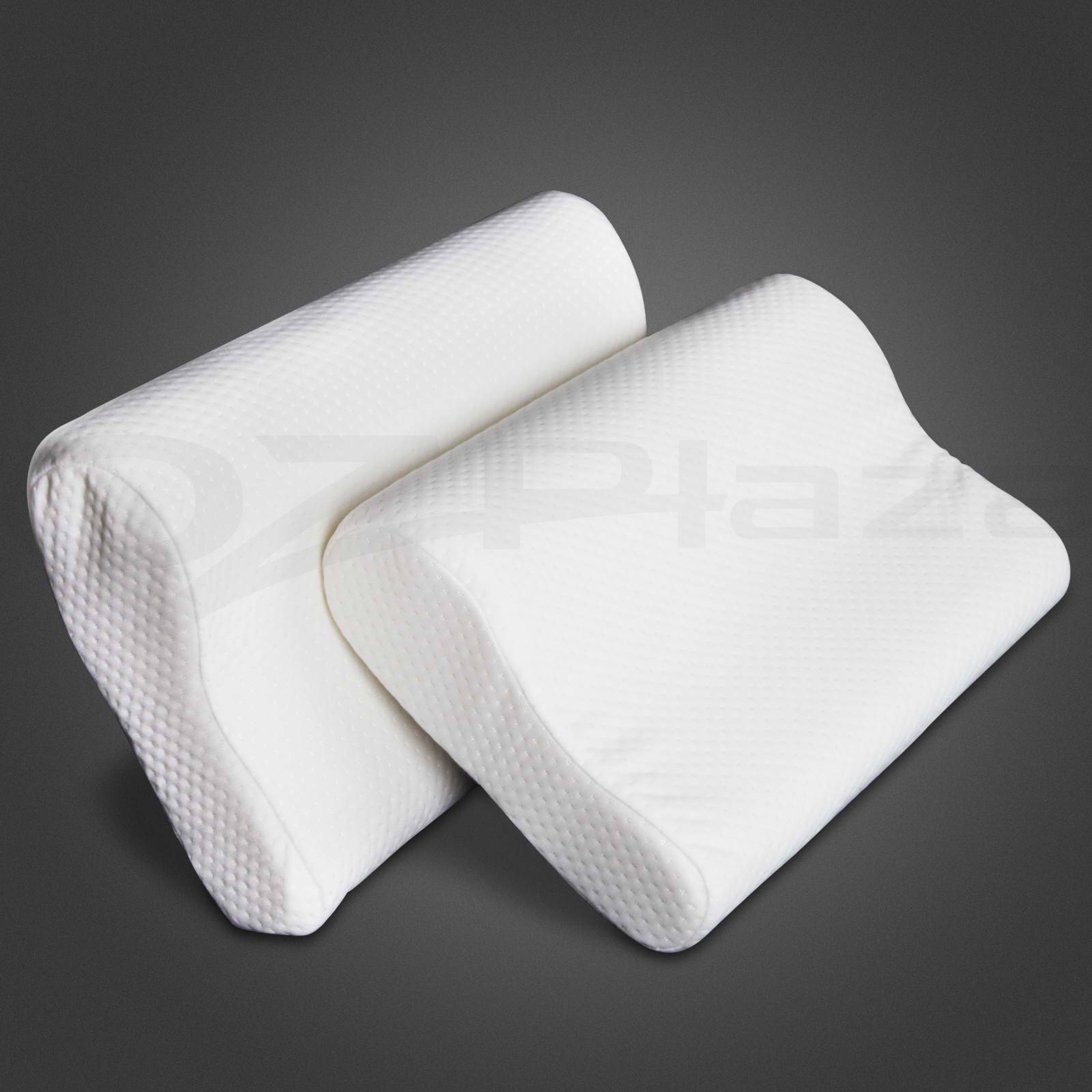 2-X-Pack-Deluxe-Visco-Elastic-Memory-Foam-Contour-Pillow-Home-Hotel-10cm-Thick