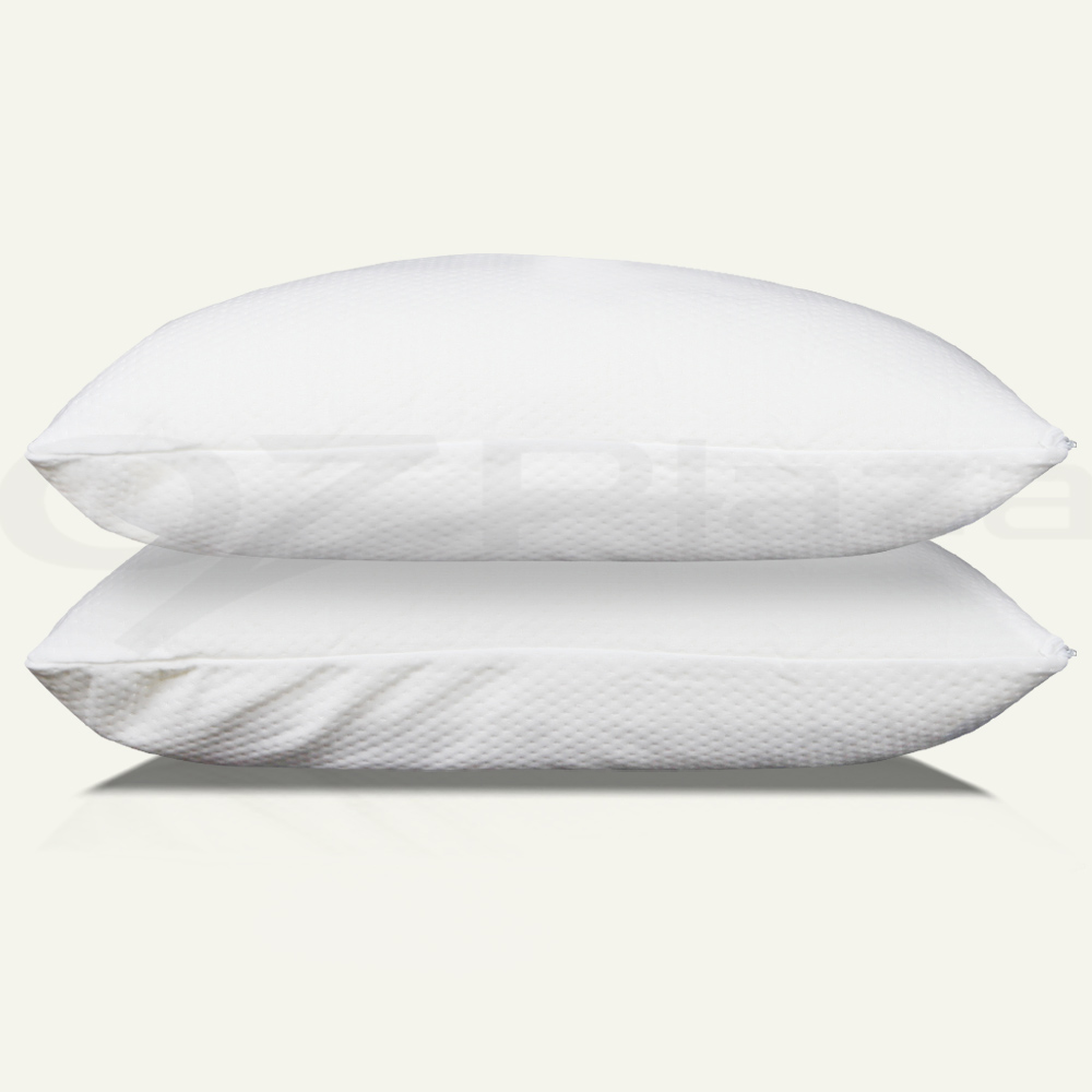 2x pack deluxe visco elastic memory foam pillow home hotel for Visco pillow