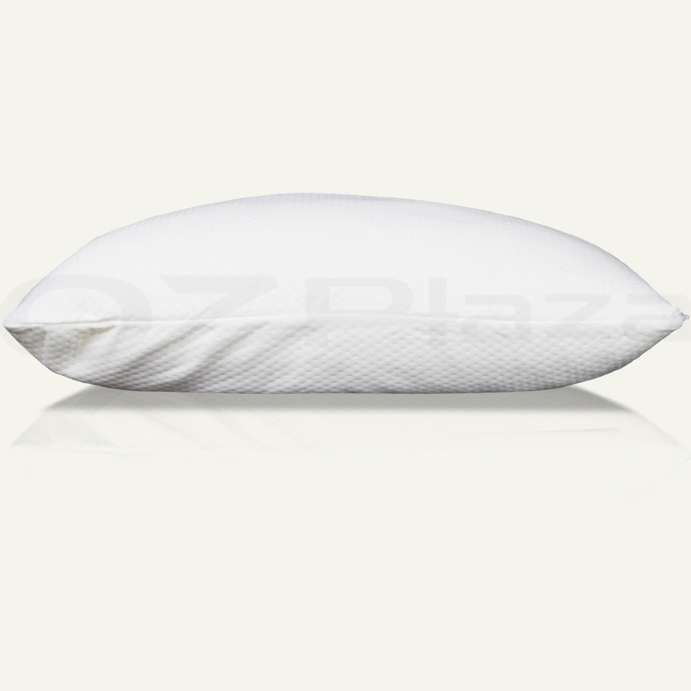 2x Pack Deluxe Visco Elastic Memory Foam Pillow Home Hotel Bed 13cm Thick Medium Ebay