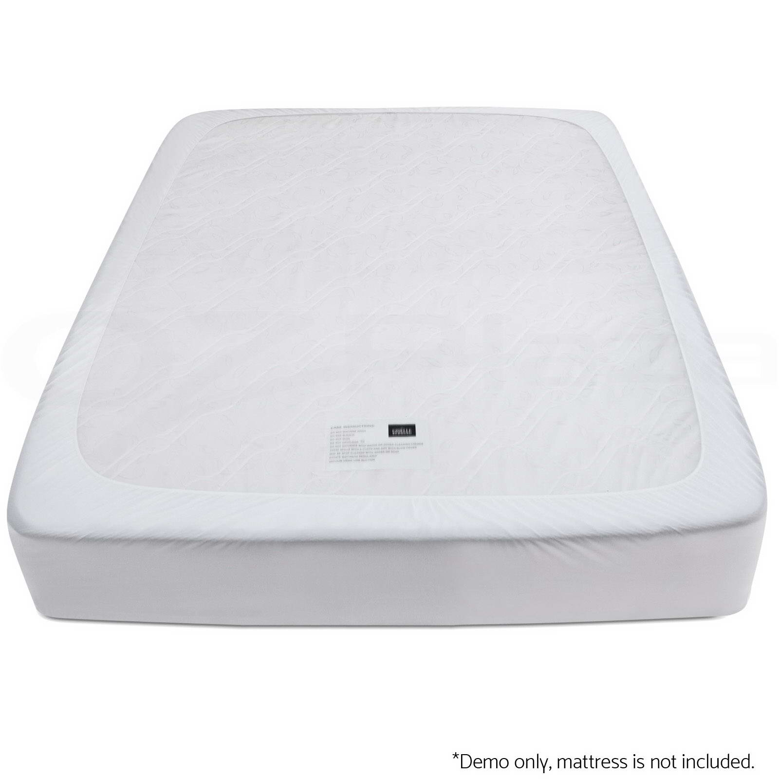 Cool Gel Memory Foam Mattress Topper Bamboo Fabric Cover All Size 8cm Protector Ebay