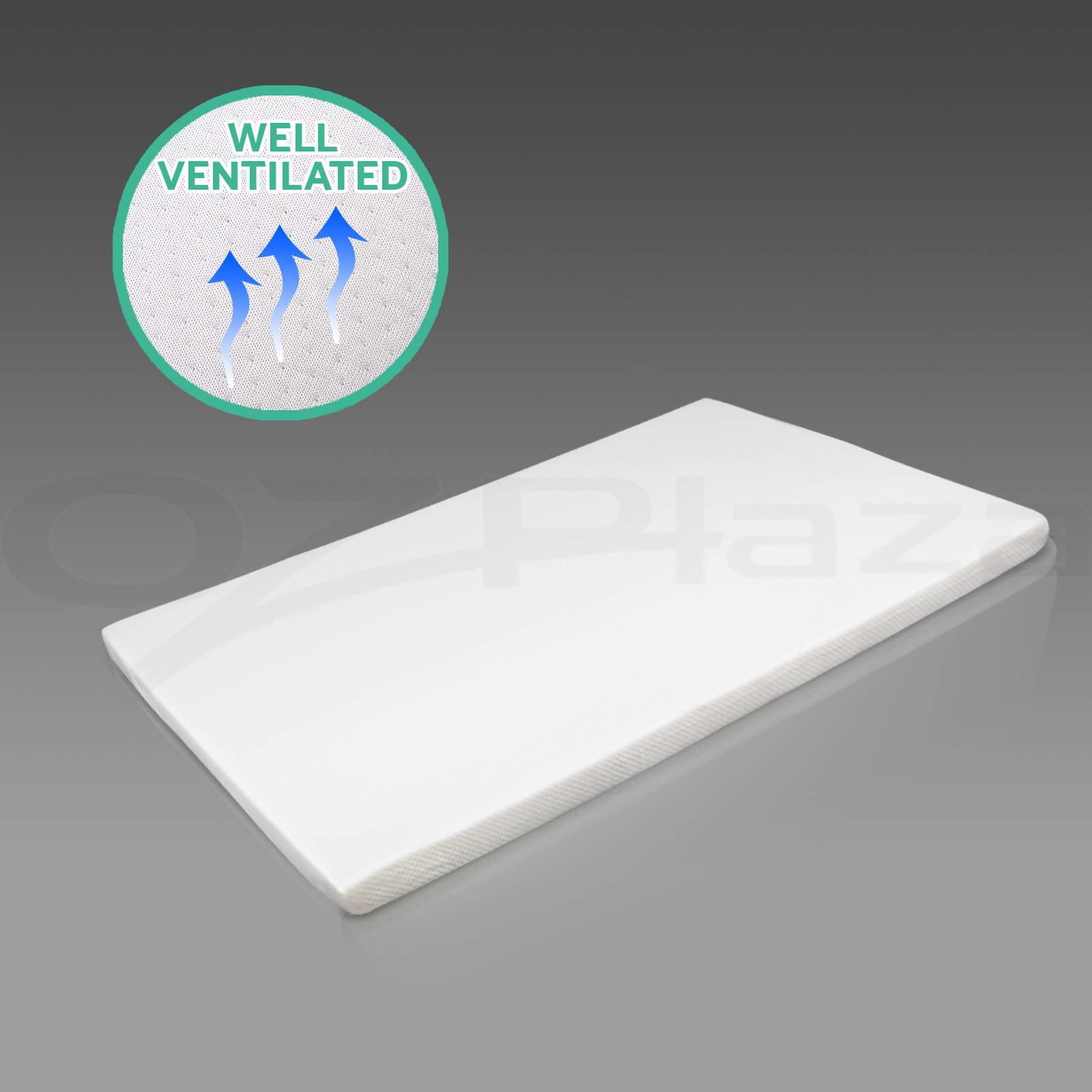 memory foam mattress topper single size 5cm visco bed. Black Bedroom Furniture Sets. Home Design Ideas