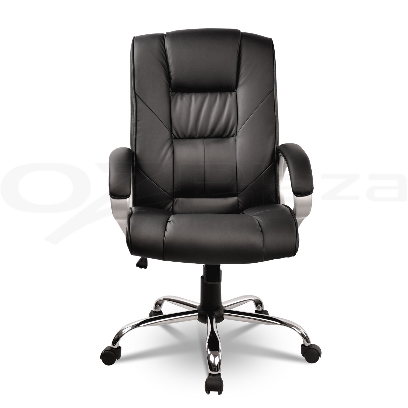 New-Executive-Premium-PU-Faux-Leather-Office-Computer-Chair-Black-82
