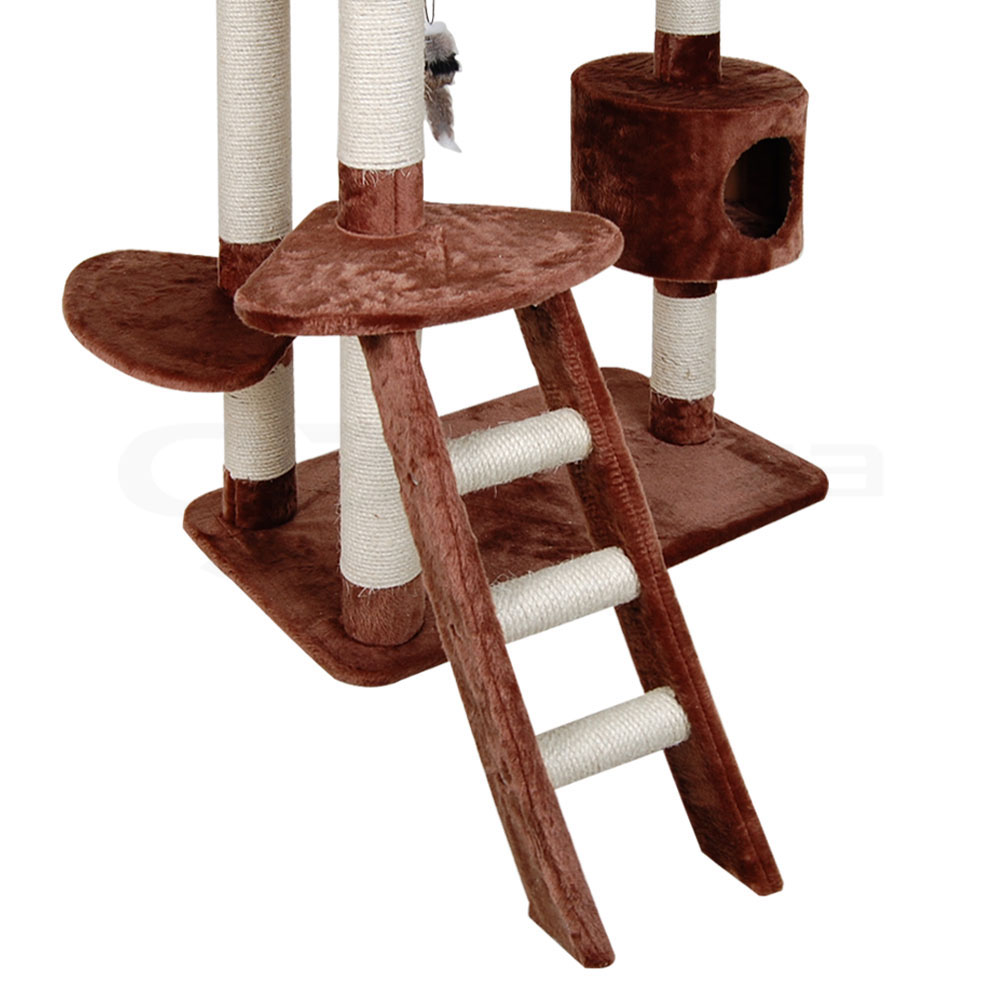Cat Tree Scratching Post Scratcher Pole Gym Toy House
