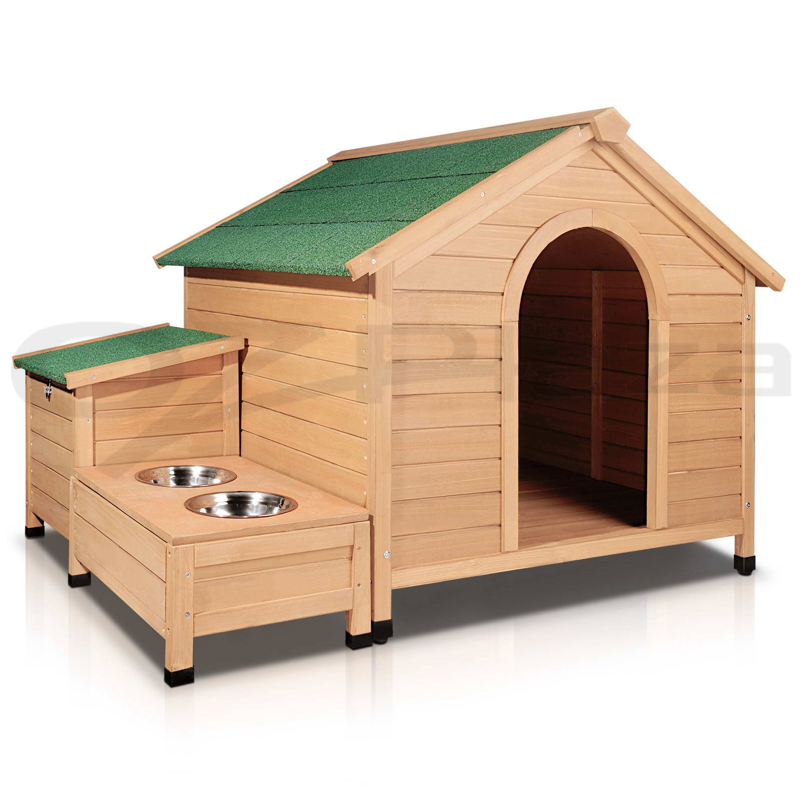 Extra Large PET DOG Timber House Wooden Kennel Wood Cabin LOG Storage