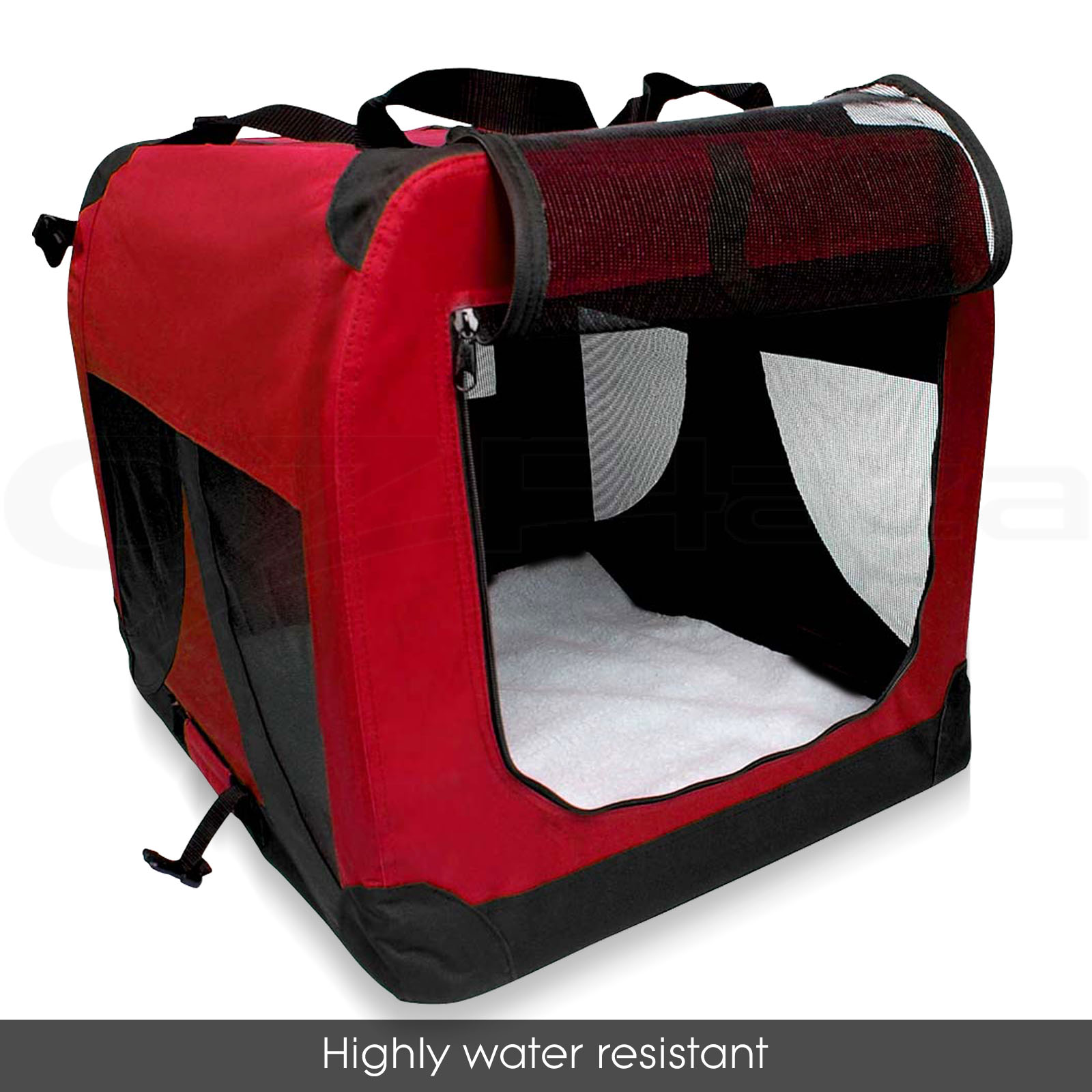 Portable Dog Cat Portable Carbon Filter Water Bottle: Pet Soft Crate Portable Dog Cat Carrier Travel Cage Kennel
