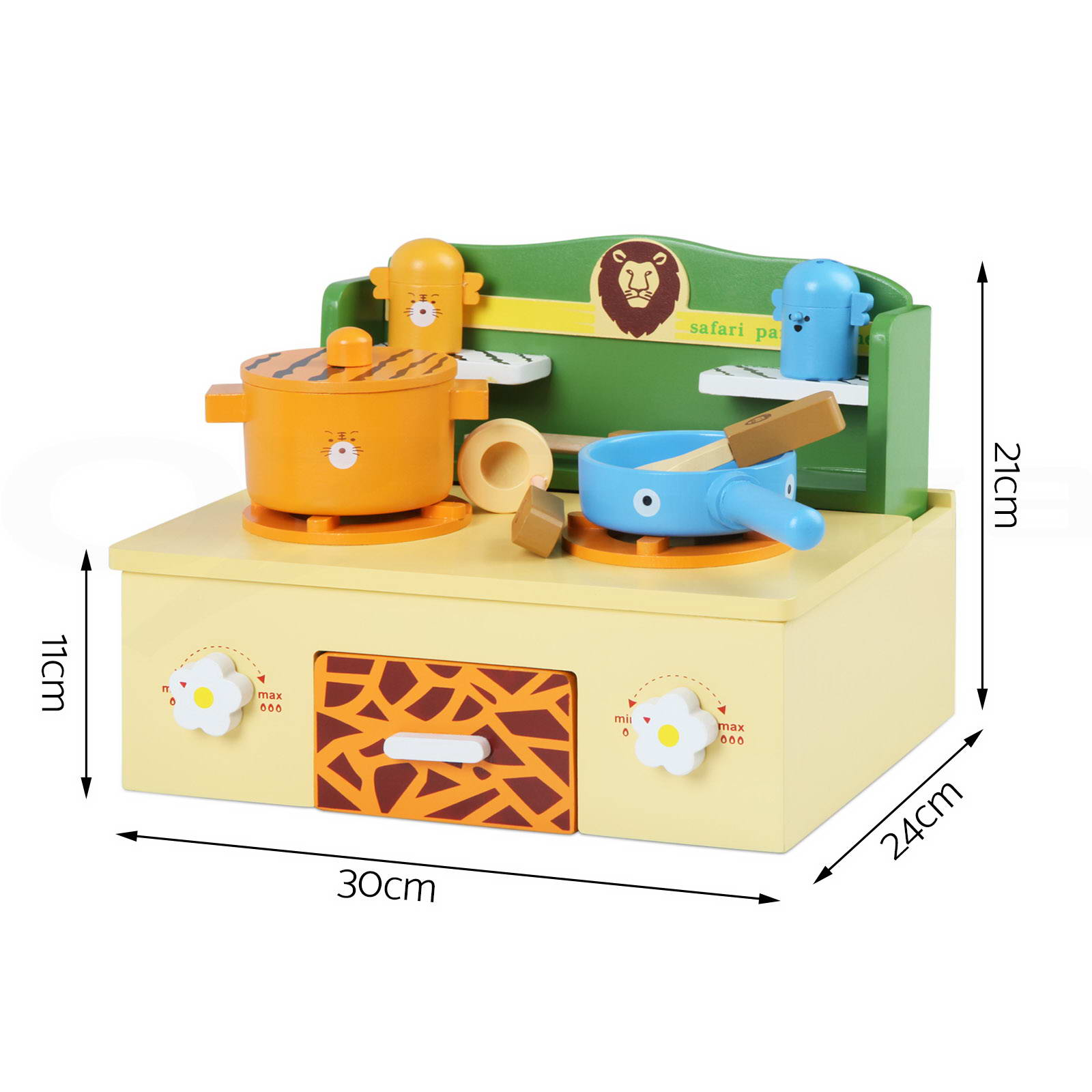 Kids wooden kitchen pretend play set stove toy children for Kitchen set from the 90 s