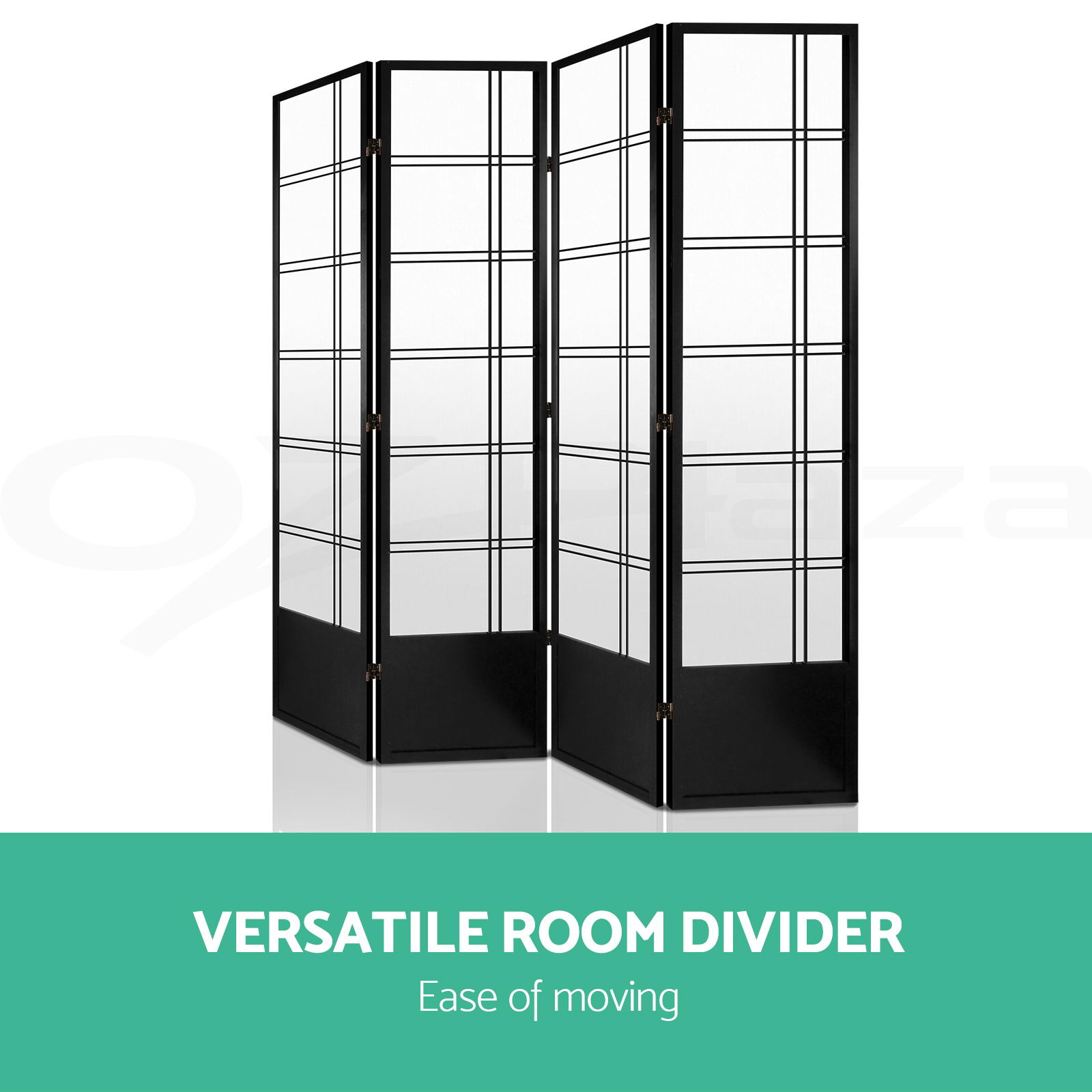 panel room divider solid wooden timber natural fold screen  - panelroomdividersolidwooden