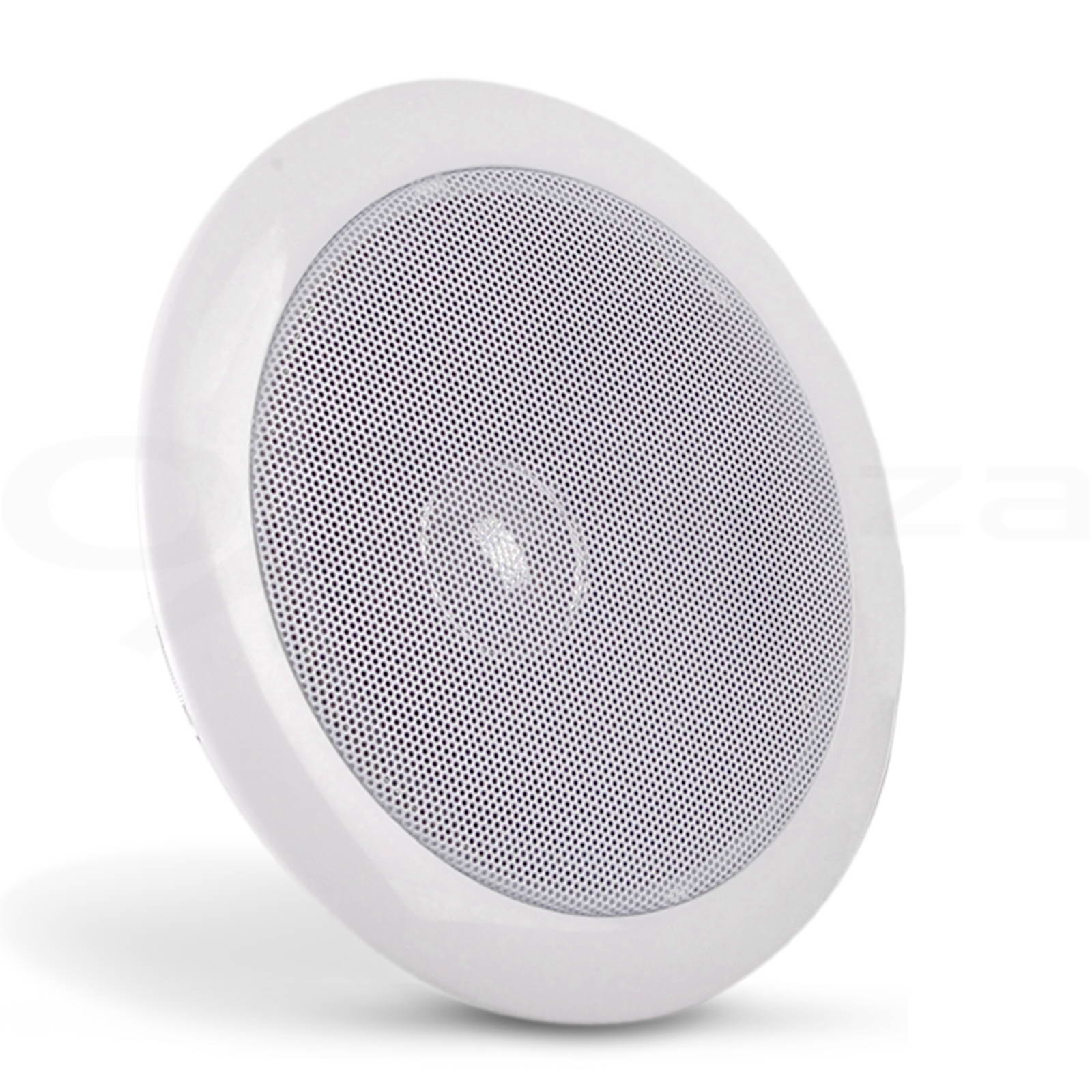 2-x-6-034-Inch-In-Ceiling-Wall-Speakers-80W-Pair-Home-Theatre-Indoor-Outdoor-Round