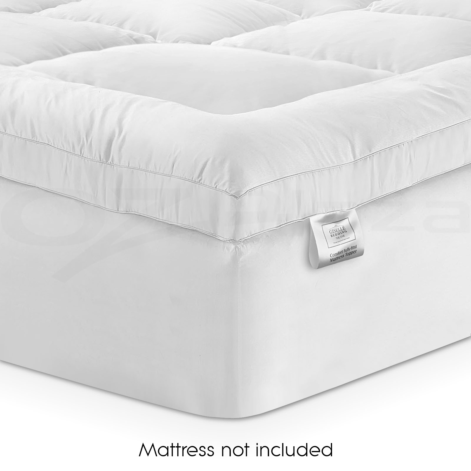 Prime Pillowtop Mattress Topper Memory Resistant Protector