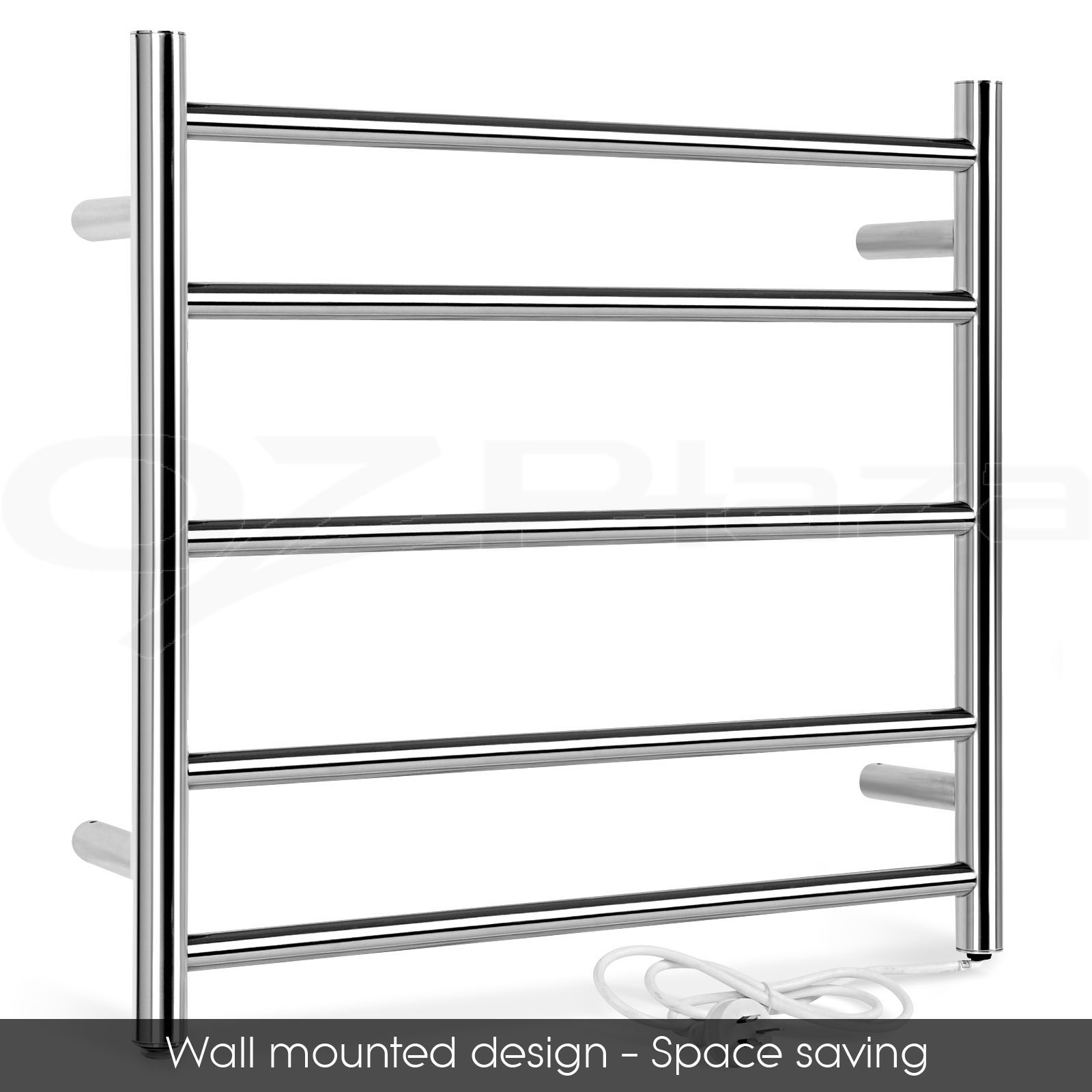 Big Size Stainless Towel Warmer Heated Towel Rack: NEW Stainless Steel Electric Heated Towel Rail Rack