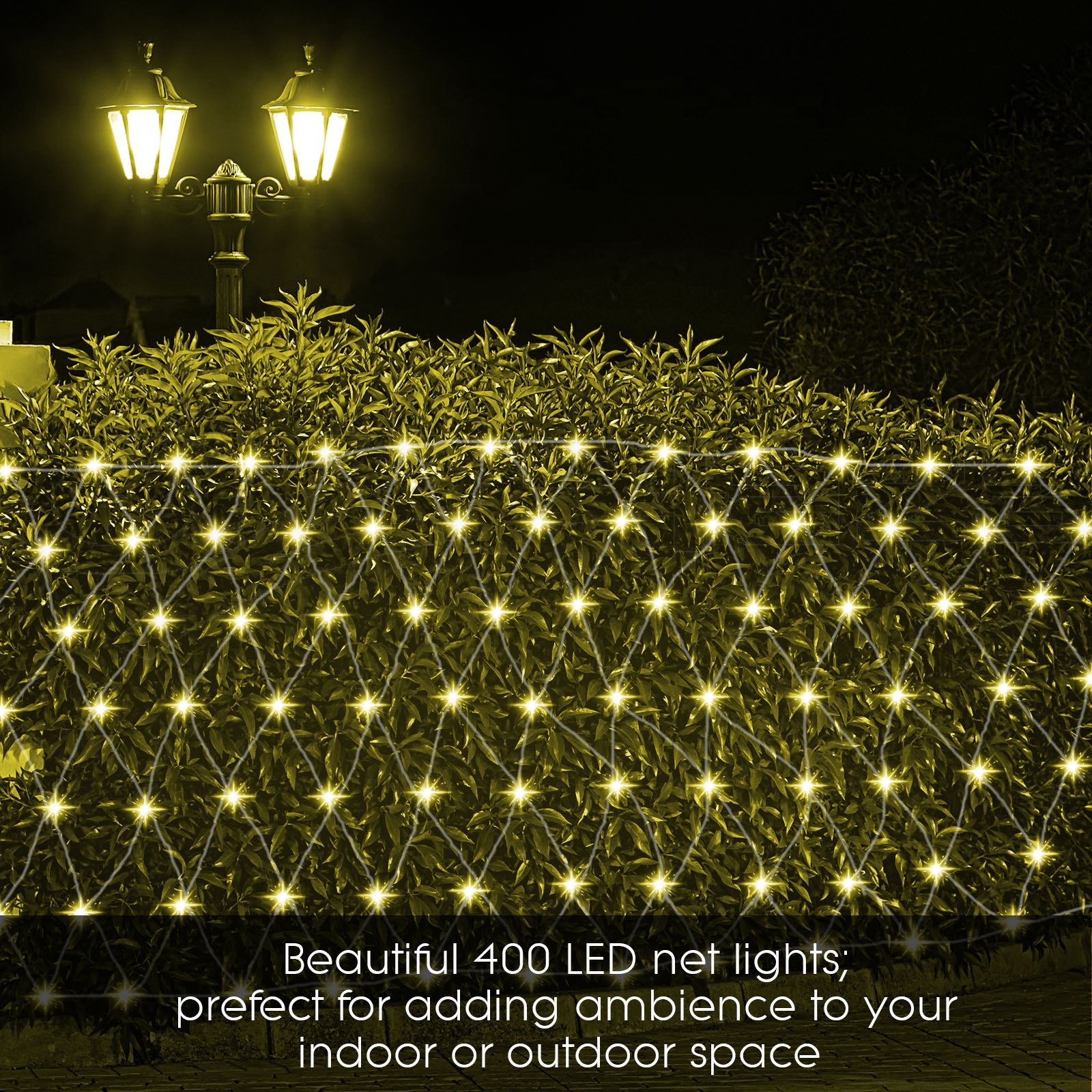 LED Christmas Icicle String Net Curtain Lights Outdoor Fairy Party Wedding Light eBay