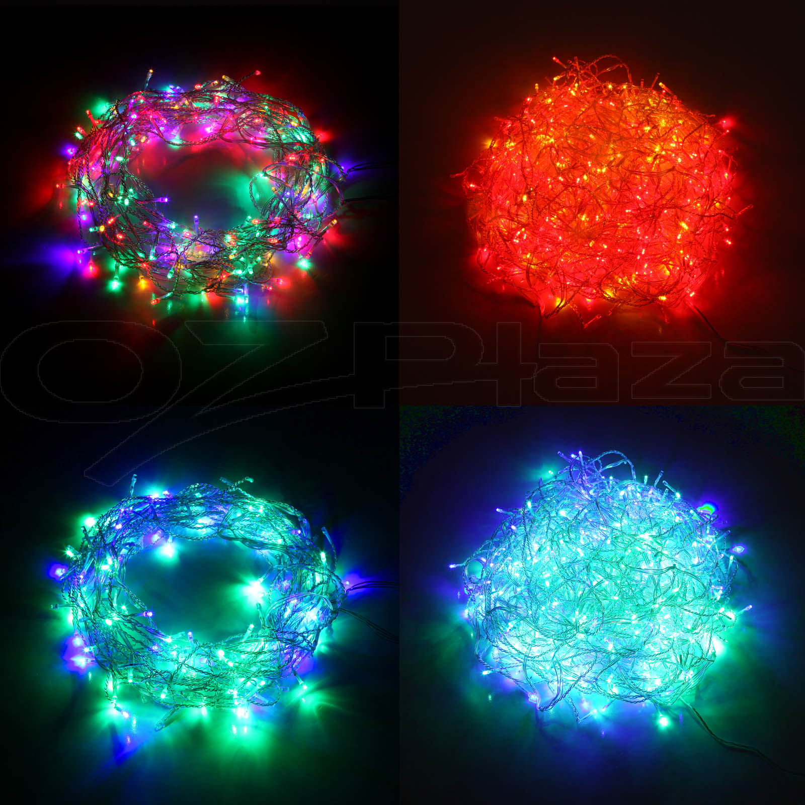 Led String Lights For Centerpieces : 800 LED Christmas String Lights Decorations Outdoor Fair Party Wedding Lighting eBay