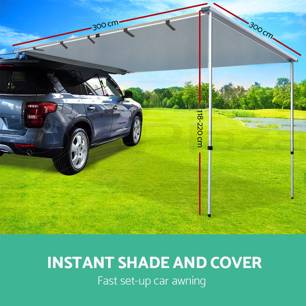 3M X Car Side Awning Roof Rack