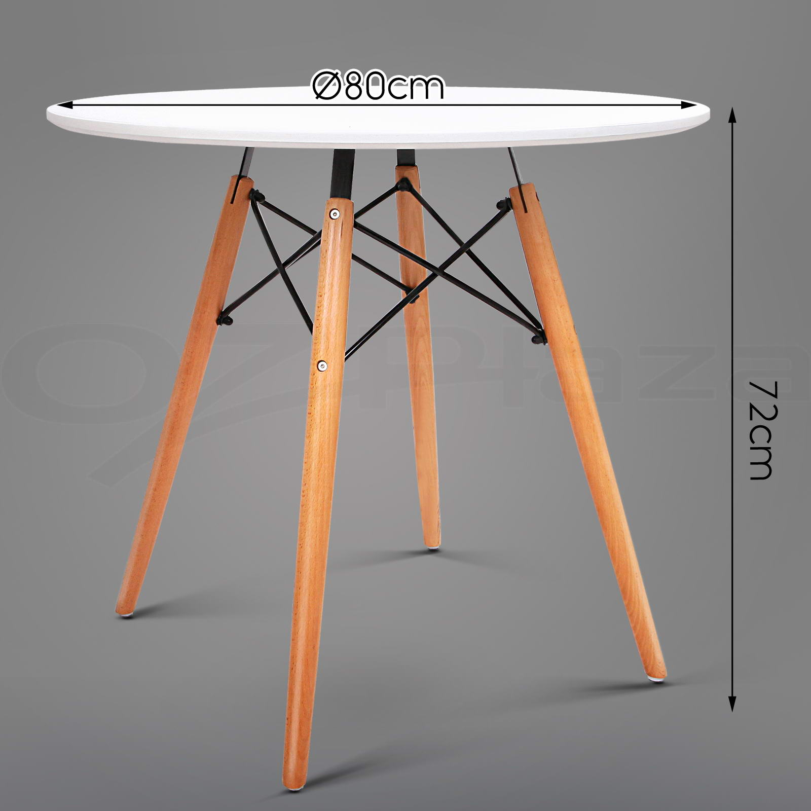 Replica eames dsw eiffel dining table kitchen caf coffee for Eames stuhl replica deutschland