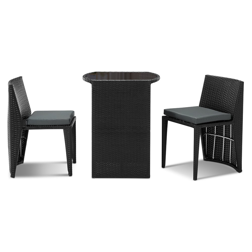 thumbnail 39 - Gardeon Outdoor Furniture Dining Chairs Chair Table Patio Bistro Garden Coffee