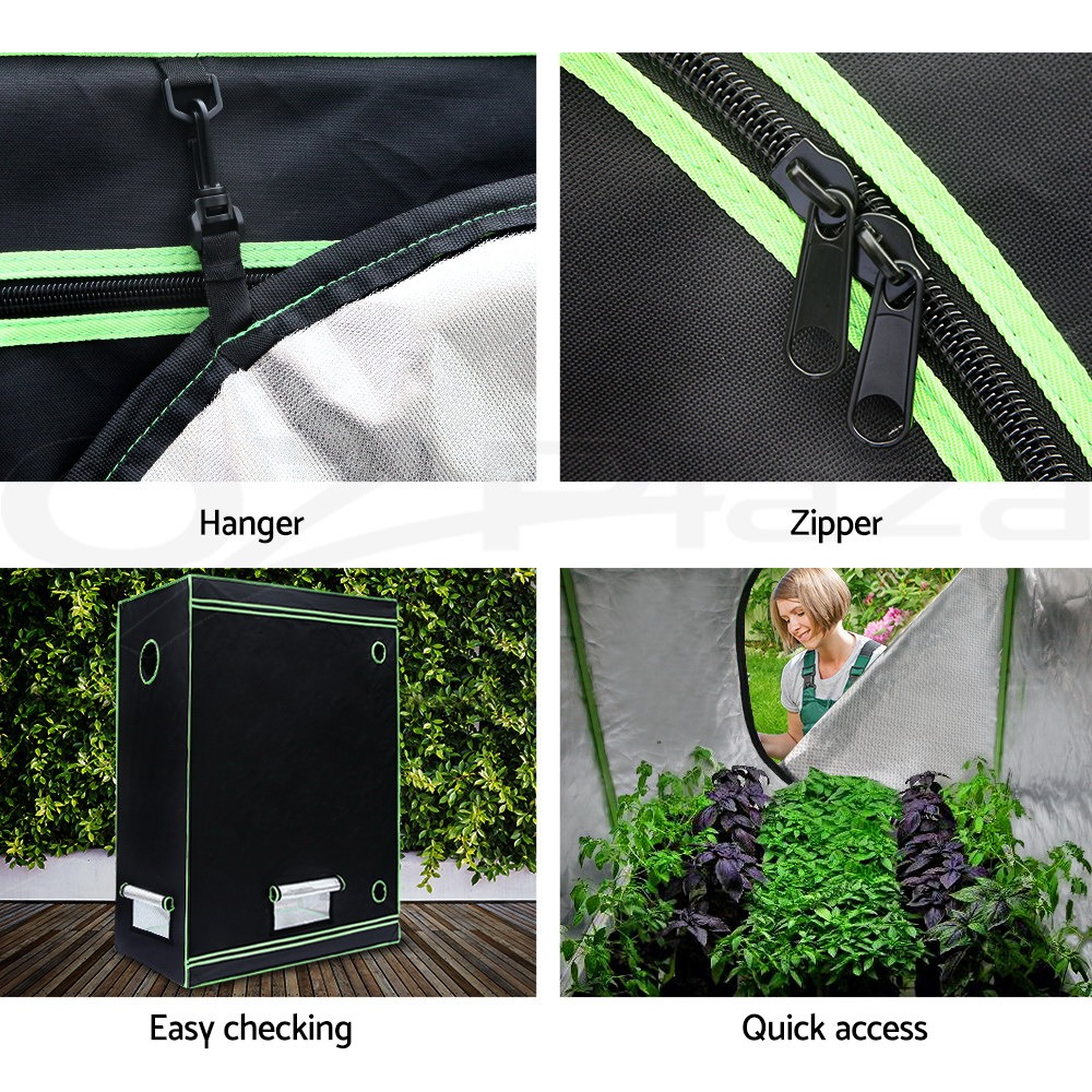 Greenfingers-Grow-Tent-Kits-Hydroponics-Indoor-Reflective-600D-Oxford-Cloth thumbnail 146