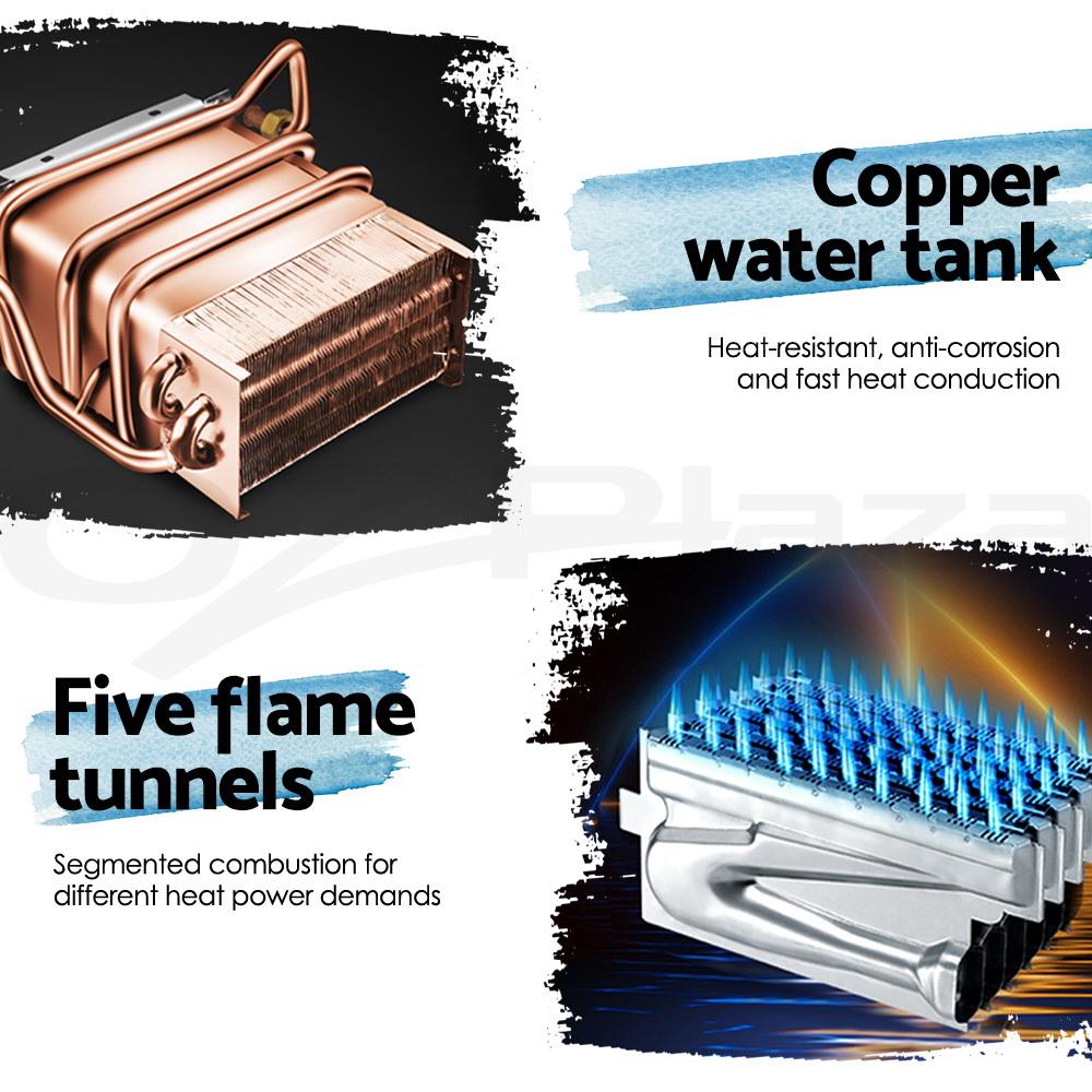 DEVANTi-Gas-Hot-Water-Heater-Portable-Shower-Pump-Camping-LPG-Caravan-Outdoor