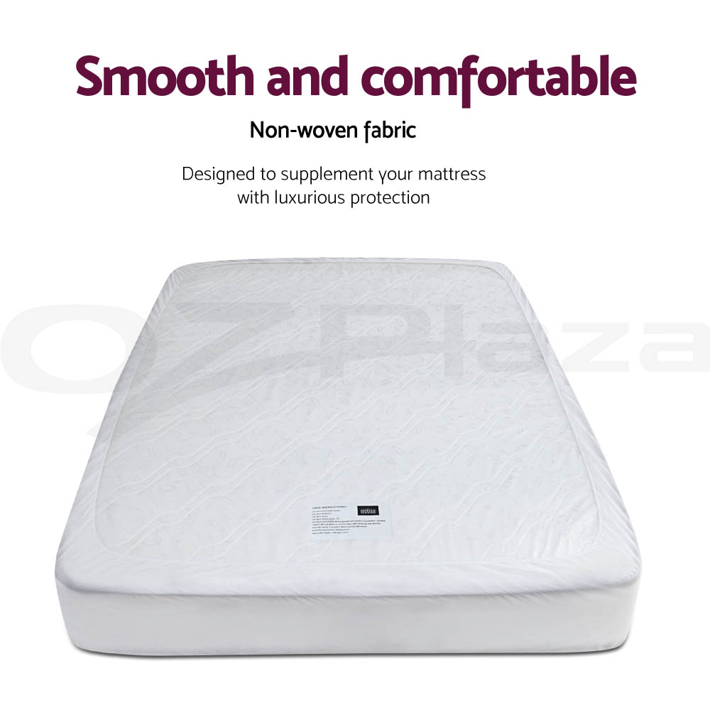 Giselle-Bedding-COOL-GEL-8CM-Memory-Foam-Mattress-Topper-BAMBOO-Cover-Protector