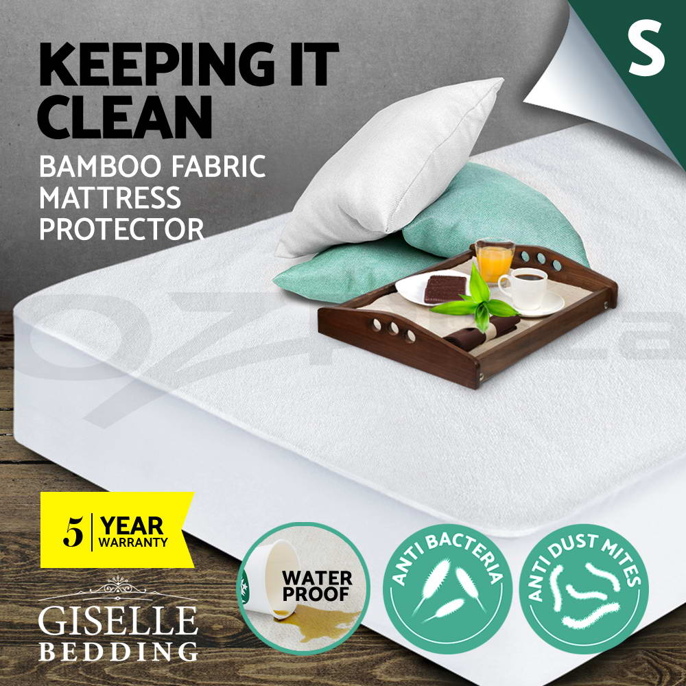 Giselle-Bedding-5CM-Memory-Foam-Mattress-Topper-BAMBOO-Underlay-Cover-Protector